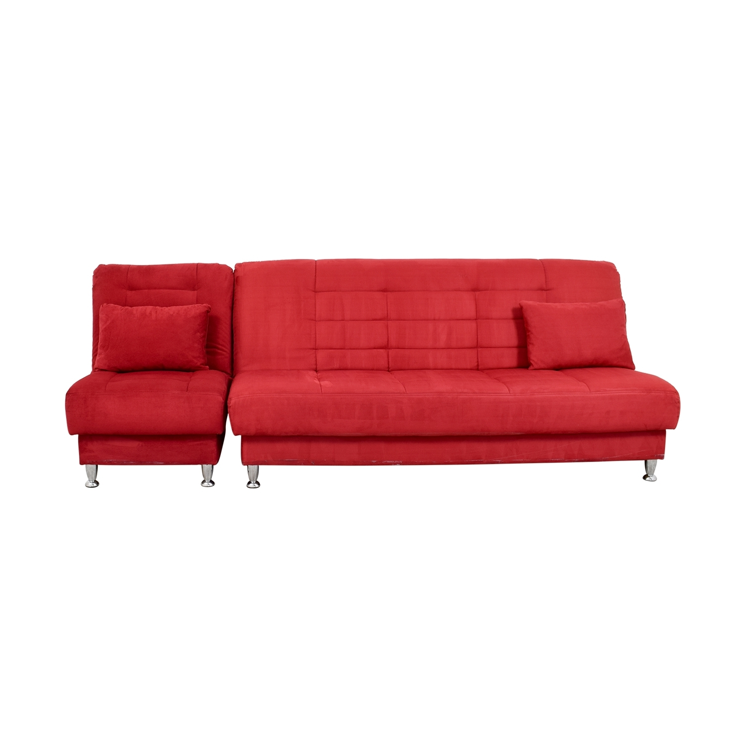 [%79% Off – Latitude Latitude Red Sofa Bed With Storage / Sofas With Best And Newest Chaises With Storage|Chaises With Storage With Famous 79% Off – Latitude Latitude Red Sofa Bed With Storage / Sofas|Well Liked Chaises With Storage With Regard To 79% Off – Latitude Latitude Red Sofa Bed With Storage / Sofas|Well Known 79% Off – Latitude Latitude Red Sofa Bed With Storage / Sofas Intended For Chaises With Storage%] (View 13 of 15)