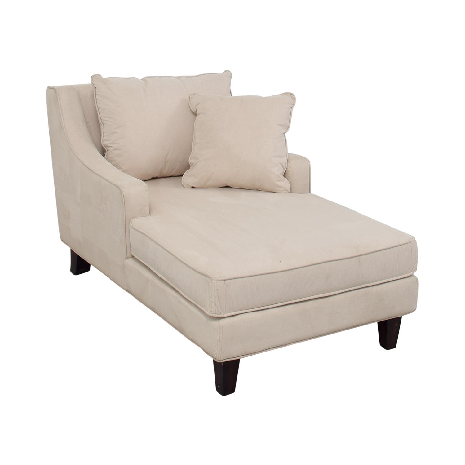 [%80% Off – Coaster Coaster Beige Microfiber Chaise Lounger / Sofas Intended For Preferred Microfiber Chaises|Microfiber Chaises Inside Most Up To Date 80% Off – Coaster Coaster Beige Microfiber Chaise Lounger / Sofas|Preferred Microfiber Chaises Regarding 80% Off – Coaster Coaster Beige Microfiber Chaise Lounger / Sofas|Current 80% Off – Coaster Coaster Beige Microfiber Chaise Lounger / Sofas Throughout Microfiber Chaises%] (View 5 of 15)