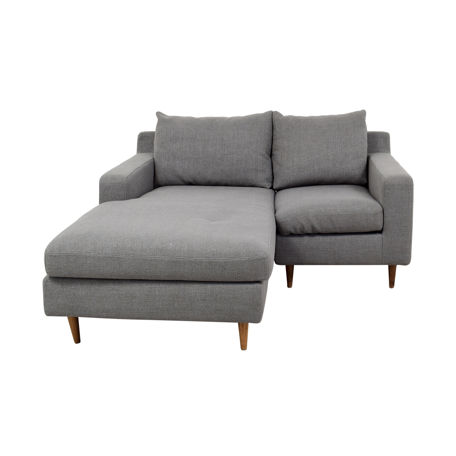 [%80% Off – Interior Define Interior Define Custom Grey Loveseat Intended For 2017 Loveseats With Chaise Lounge|Loveseats With Chaise Lounge Within Well Liked 80% Off – Interior Define Interior Define Custom Grey Loveseat|Latest Loveseats With Chaise Lounge Regarding 80% Off – Interior Define Interior Define Custom Grey Loveseat|Best And Newest 80% Off – Interior Define Interior Define Custom Grey Loveseat Inside Loveseats With Chaise Lounge%] (View 1 of 15)