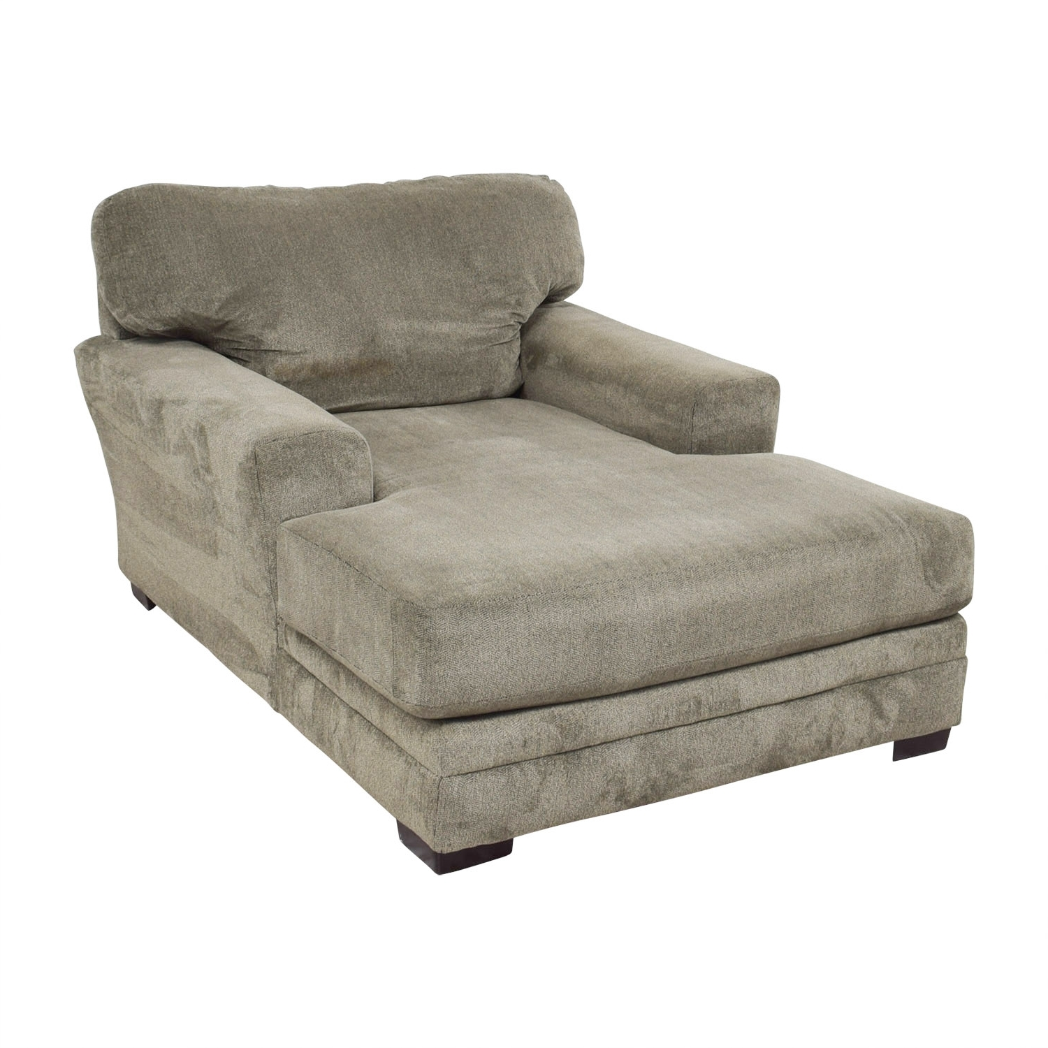 [%81% Off – Bob's Furniture Bob's Furniture Grey Chaise Lounge / Sofas Intended For Most Recent Grey Chaises|Grey Chaises Throughout Trendy 81% Off – Bob's Furniture Bob's Furniture Grey Chaise Lounge / Sofas|Best And Newest Grey Chaises Regarding 81% Off – Bob's Furniture Bob's Furniture Grey Chaise Lounge / Sofas|Well Known 81% Off – Bob's Furniture Bob's Furniture Grey Chaise Lounge / Sofas In Grey Chaises%] (View 5 of 15)