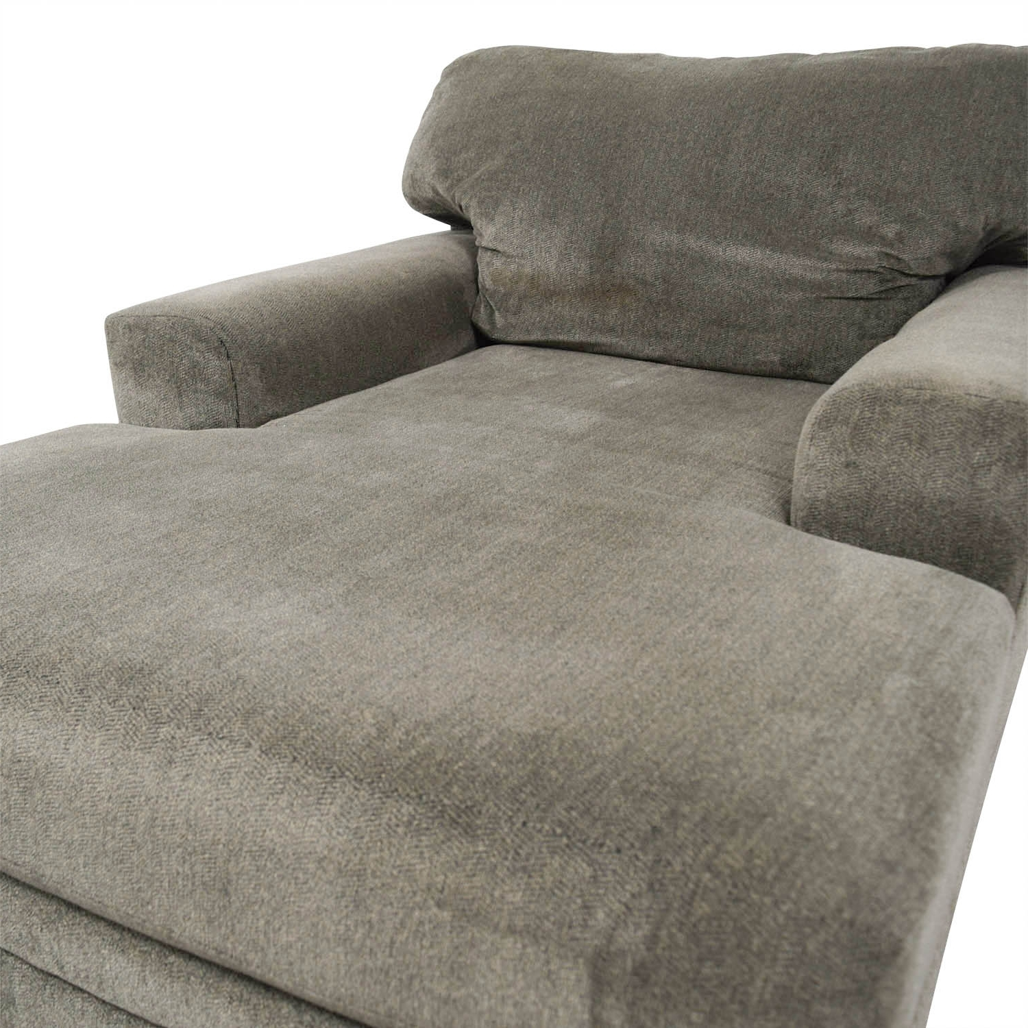 [%81% Off – Bob's Furniture Bob's Furniture Grey Chaise Lounge / Sofas Throughout Trendy Bobs Furniture Chaises|Bobs Furniture Chaises For Most Recent 81% Off – Bob's Furniture Bob's Furniture Grey Chaise Lounge / Sofas|Famous Bobs Furniture Chaises Within 81% Off – Bob's Furniture Bob's Furniture Grey Chaise Lounge / Sofas|Current 81% Off – Bob's Furniture Bob's Furniture Grey Chaise Lounge / Sofas In Bobs Furniture Chaises%] (View 11 of 15)