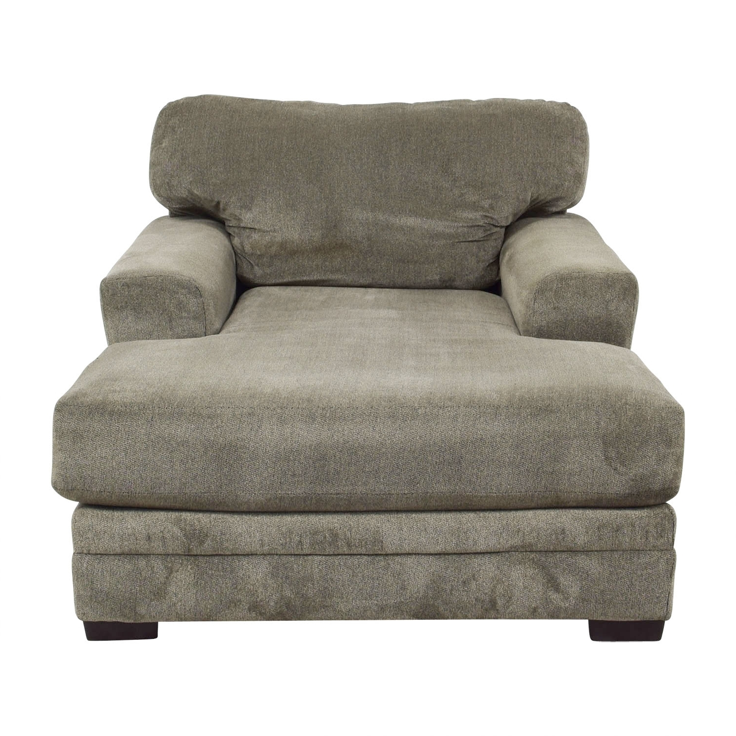 [%81% Off – Bob's Furniture Bob's Furniture Grey Chaise Lounge / Sofas Throughout Widely Used Gray Chaises|Gray Chaises Intended For Preferred 81% Off – Bob's Furniture Bob's Furniture Grey Chaise Lounge / Sofas|Famous Gray Chaises Within 81% Off – Bob's Furniture Bob's Furniture Grey Chaise Lounge / Sofas|Well Liked 81% Off – Bob's Furniture Bob's Furniture Grey Chaise Lounge / Sofas In Gray Chaises%] (View 3 of 15)