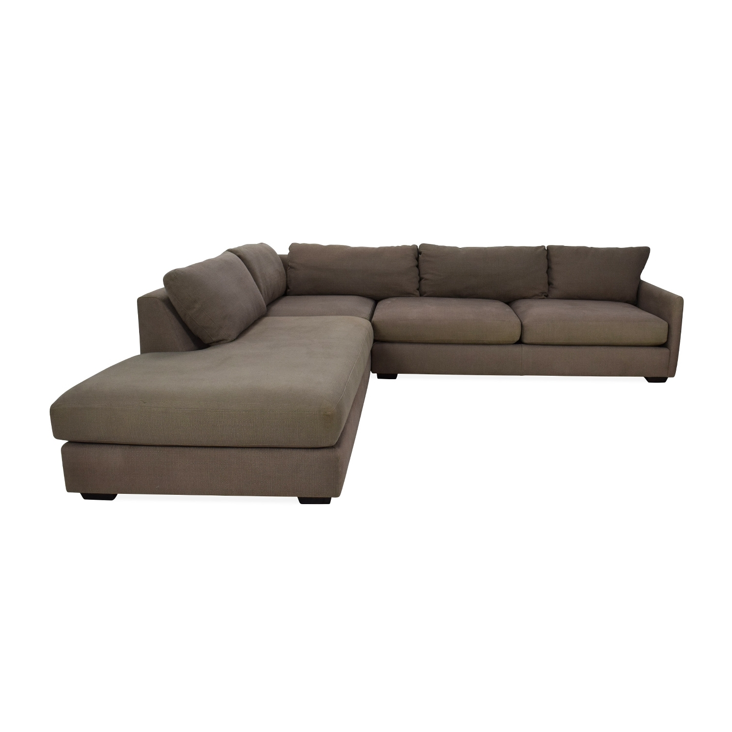 [%82% Off – Crate And Barrel Crate & Barrel Domino Sectional Sofa Regarding Most Popular Crate And Barrel Chaises|Crate And Barrel Chaises For Most Popular 82% Off – Crate And Barrel Crate & Barrel Domino Sectional Sofa|Current Crate And Barrel Chaises For 82% Off – Crate And Barrel Crate & Barrel Domino Sectional Sofa|2018 82% Off – Crate And Barrel Crate & Barrel Domino Sectional Sofa Within Crate And Barrel Chaises%] (View 4 of 15)
