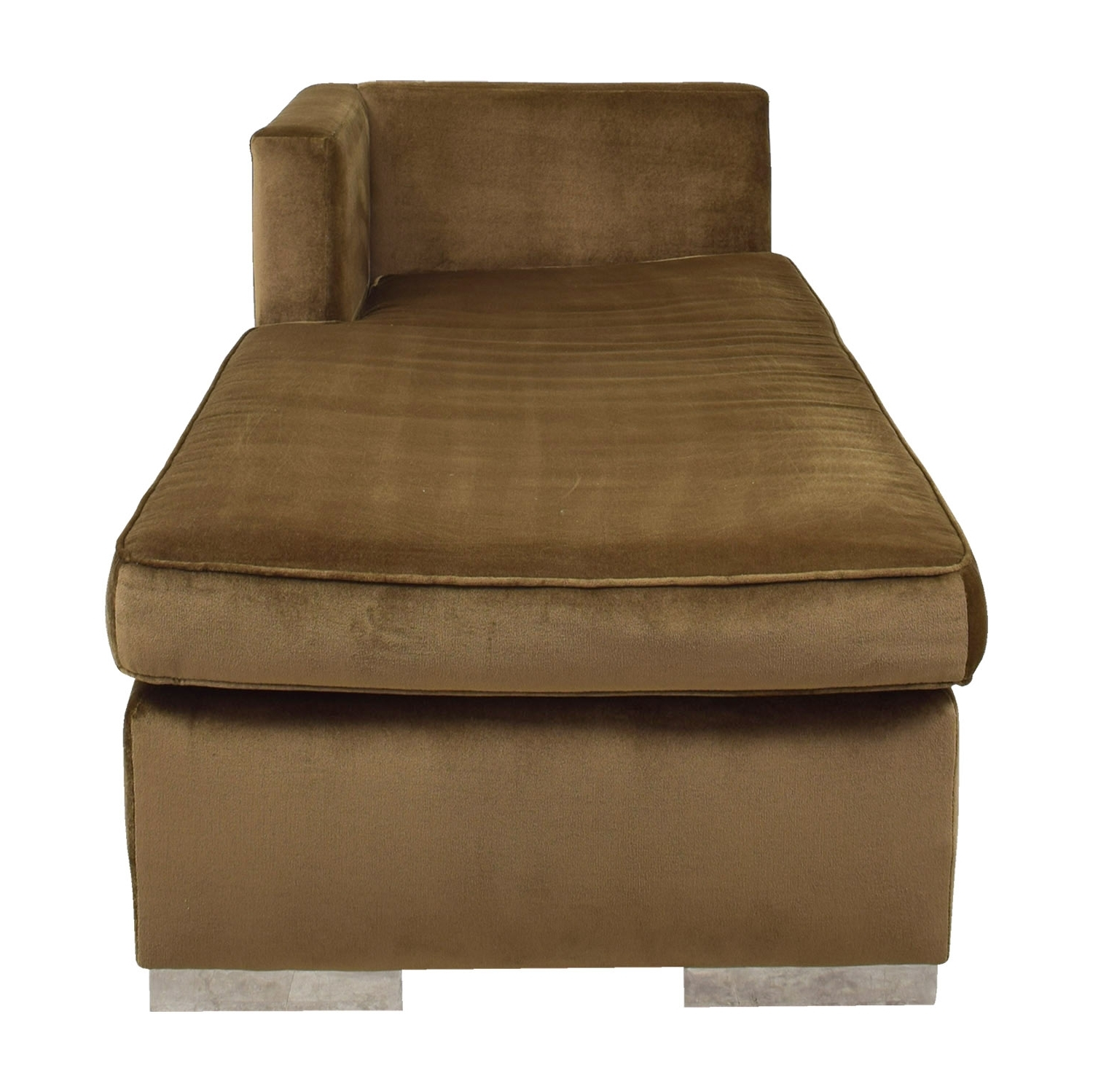 [%85% Off – Leija Designs Leija Designs Brown Mohair Chaise Lounger Intended For Most Popular Brown Chaises|Brown Chaises With Most Up To Date 85% Off – Leija Designs Leija Designs Brown Mohair Chaise Lounger|Recent Brown Chaises Regarding 85% Off – Leija Designs Leija Designs Brown Mohair Chaise Lounger|Well Known 85% Off – Leija Designs Leija Designs Brown Mohair Chaise Lounger With Regard To Brown Chaises%] (View 2 of 15)