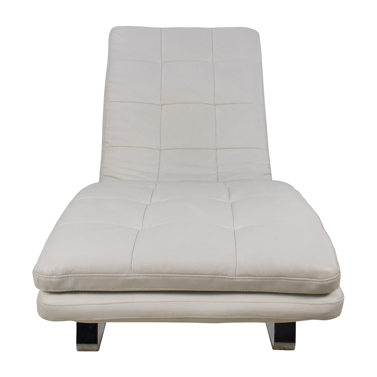 [%85% Off – Leija Designs Leija Designs Brown Mohair Chaise Lounger With Regard To Recent White Chaises|White Chaises Inside 2018 85% Off – Leija Designs Leija Designs Brown Mohair Chaise Lounger|Well Liked White Chaises With 85% Off – Leija Designs Leija Designs Brown Mohair Chaise Lounger|Most Recently Released 85% Off – Leija Designs Leija Designs Brown Mohair Chaise Lounger With White Chaises%] (View 9 of 15)