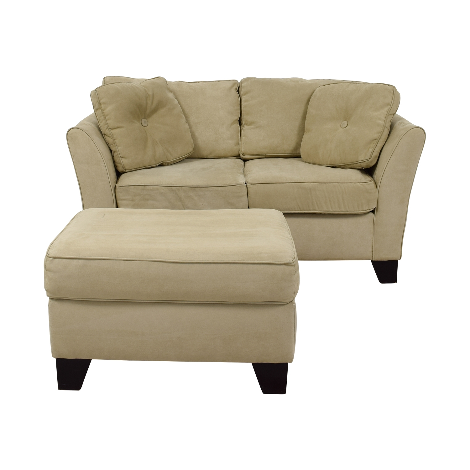 [%86% Off – Macy's Macy's Tan Loveseat With Ottoman / Sofas With Regard To Latest Loveseats With Ottoman|Loveseats With Ottoman Throughout Current 86% Off – Macy's Macy's Tan Loveseat With Ottoman / Sofas|Most Popular Loveseats With Ottoman In 86% Off – Macy's Macy's Tan Loveseat With Ottoman / Sofas|2017 86% Off – Macy's Macy's Tan Loveseat With Ottoman / Sofas Within Loveseats With Ottoman%] (View 8 of 15)
