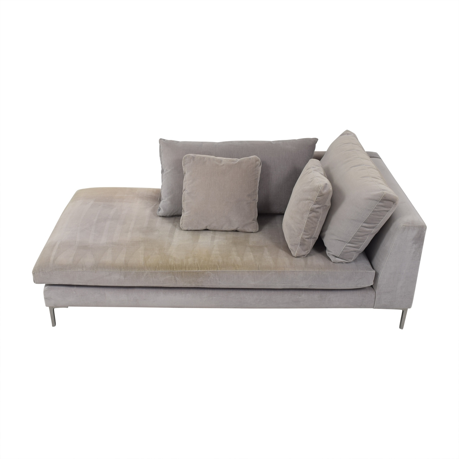 [%87% Off – Abc Carpet And Home Abc Right Arm Velvet Chaise / Sofas With Widely Used Chaise Sofas|Chaise Sofas For Recent 87% Off – Abc Carpet And Home Abc Right Arm Velvet Chaise / Sofas|Most Recently Released Chaise Sofas With Regard To 87% Off – Abc Carpet And Home Abc Right Arm Velvet Chaise / Sofas|Well Liked 87% Off – Abc Carpet And Home Abc Right Arm Velvet Chaise / Sofas Throughout Chaise Sofas%] (View 2 of 15)