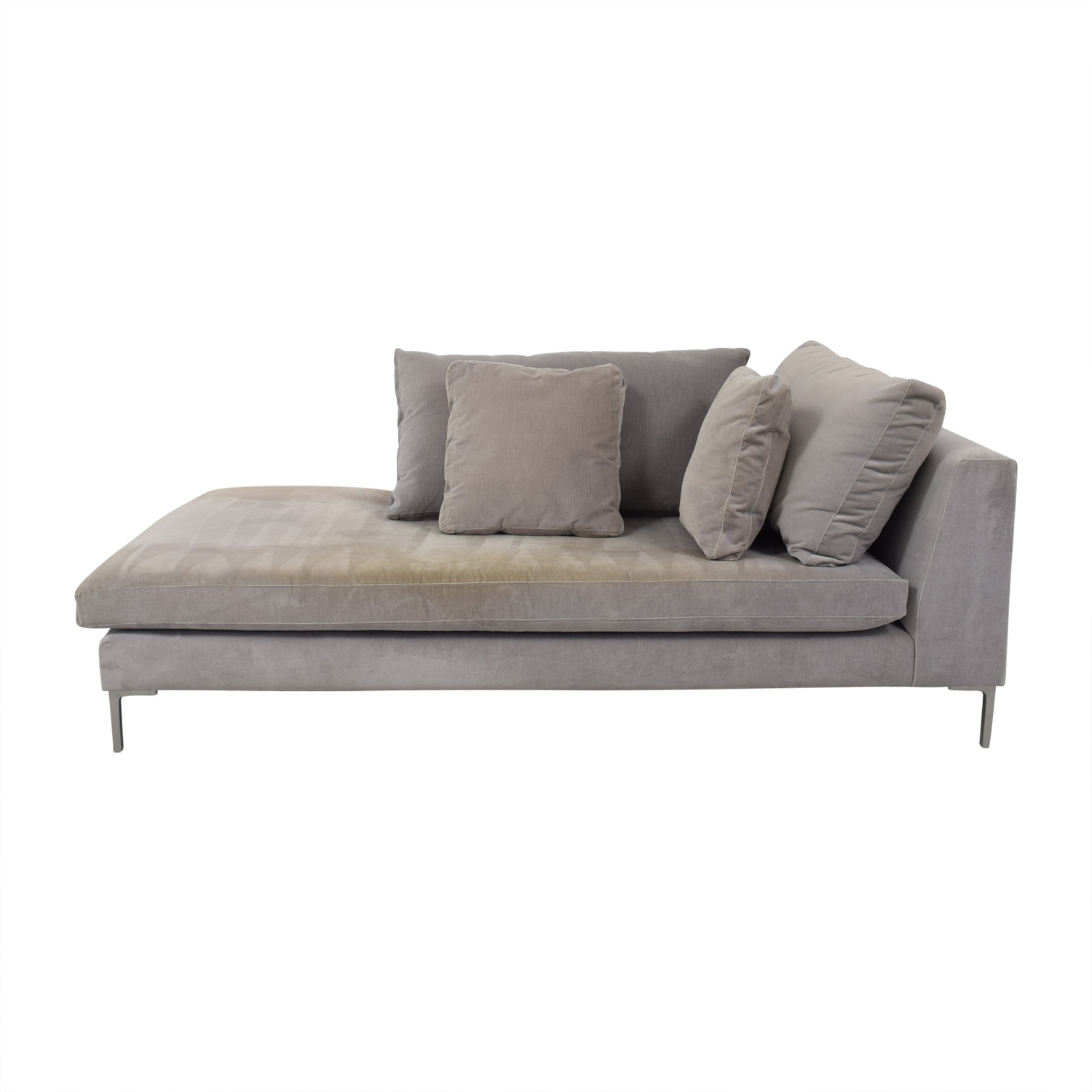[%87% Off – Abc Carpet And Home Abc Right Arm Velvet Chaise / Sofas Within Favorite Right Arm Chaises|Right Arm Chaises Intended For Most Current 87% Off – Abc Carpet And Home Abc Right Arm Velvet Chaise / Sofas|Famous Right Arm Chaises In 87% Off – Abc Carpet And Home Abc Right Arm Velvet Chaise / Sofas|Popular 87% Off – Abc Carpet And Home Abc Right Arm Velvet Chaise / Sofas Within Right Arm Chaises%] (View 1 of 15)
