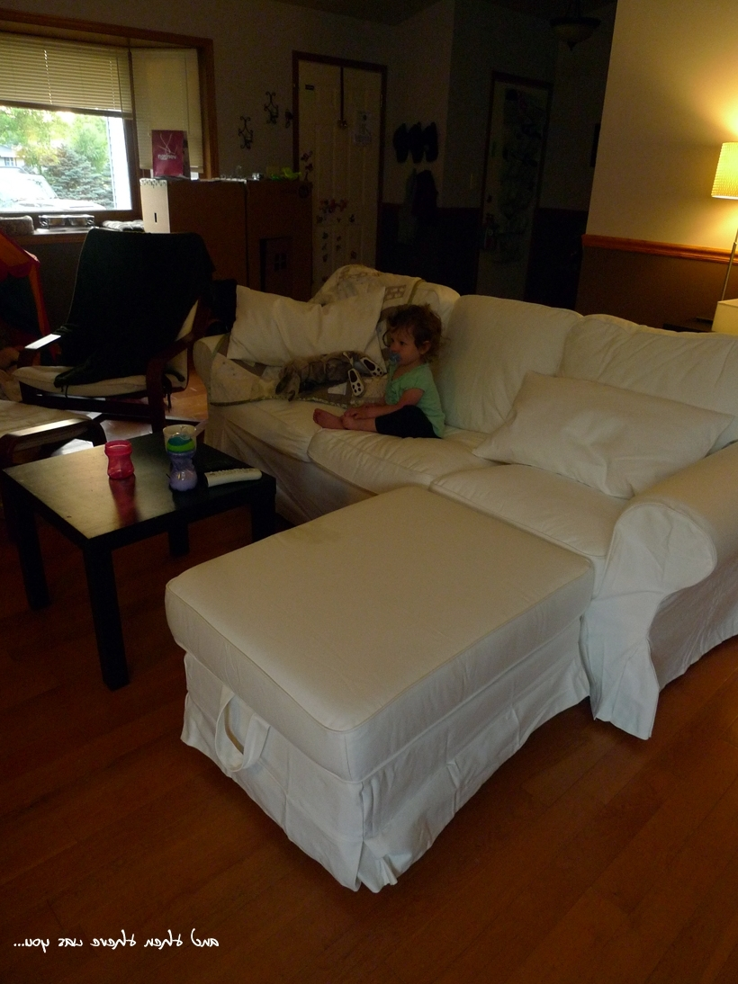 A New Couch: Ikea Ektorp In White! (View 1 of 15)