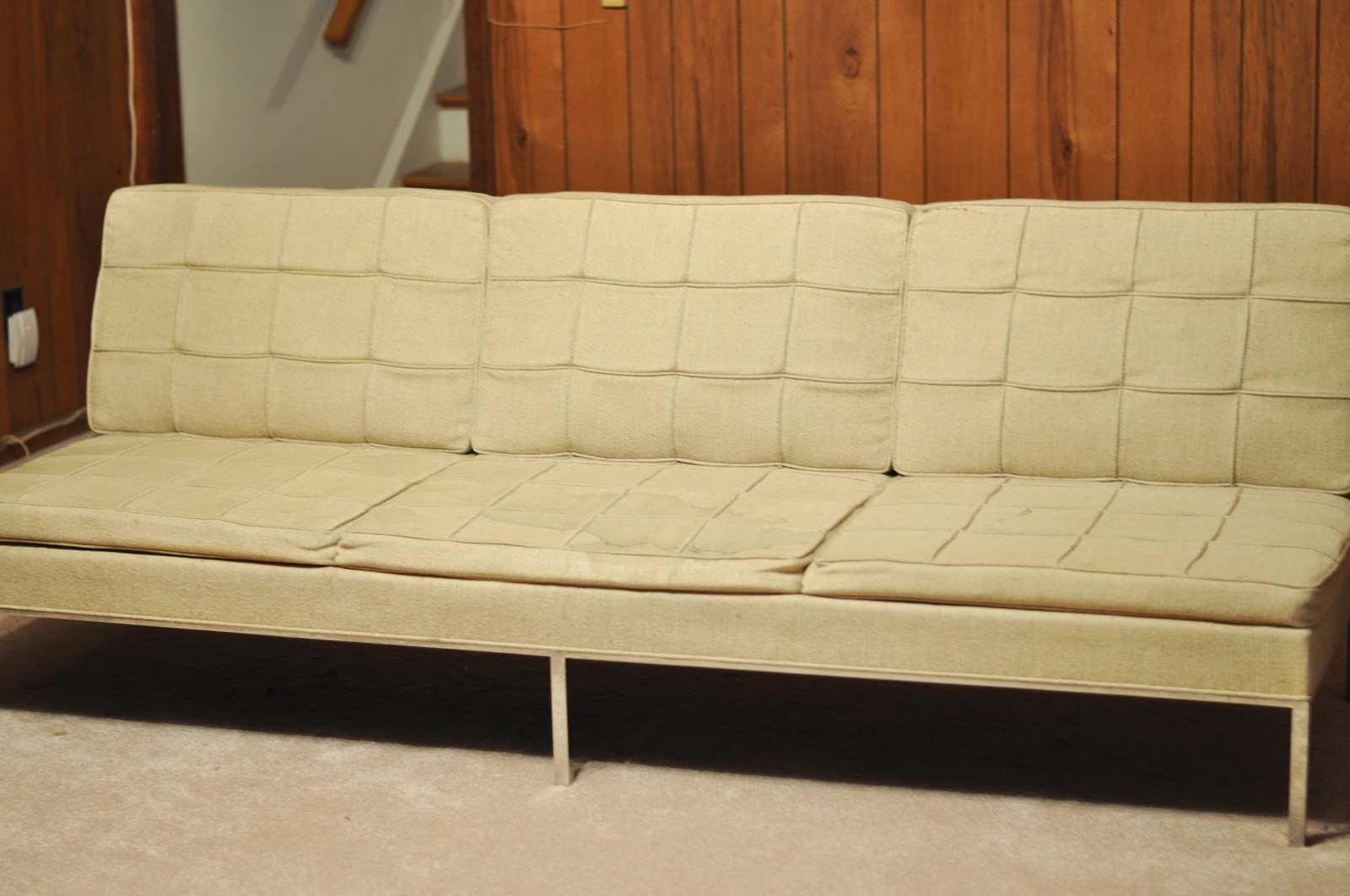 A Treasure In Storage: The Florence Knoll Sofa Comes Home Inside Most Popular Florence Large Sofas (View 2 of 15)