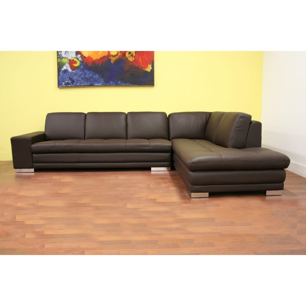 Abbieht Chaise Sectional Sofa With Large Cushionsengland Ivy In Most Up To Date Regina Sectional Sofas (View 1 of 15)