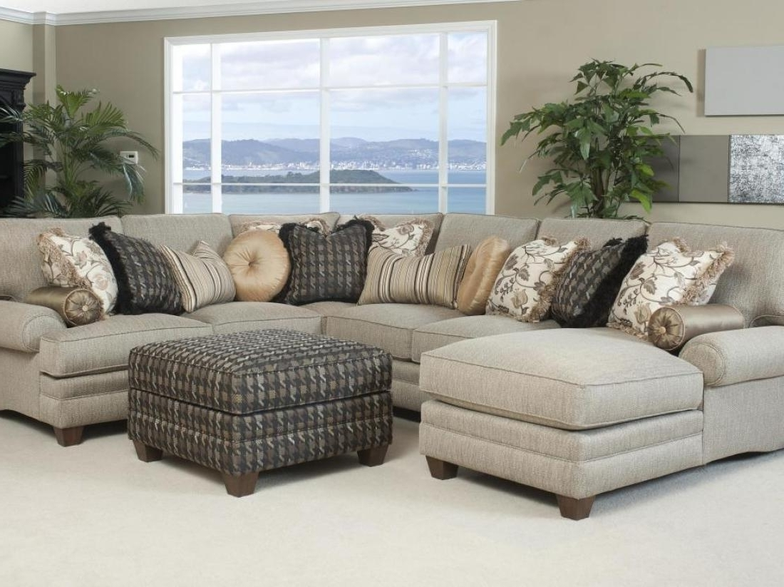 Abbyson Sectional Sofas For Recent Stylish Abbyson Living Charlotte Dark Brown Sectional Sofa And (View 4 of 15)