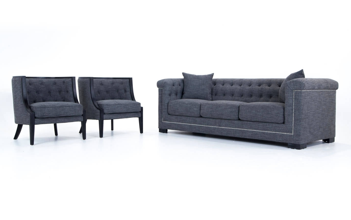 Accent Sofa Chairs Within Best And Newest Melrose Sofa & Accent Chairs (View 5 of 15)