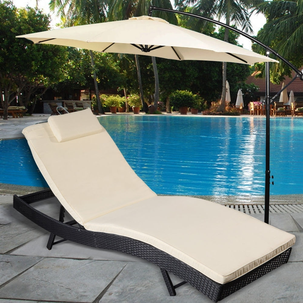 Adjustable Pool Chaise Lounge Chair Recliners For 2017 Pool Chaise Lounge (View 15 of 15)