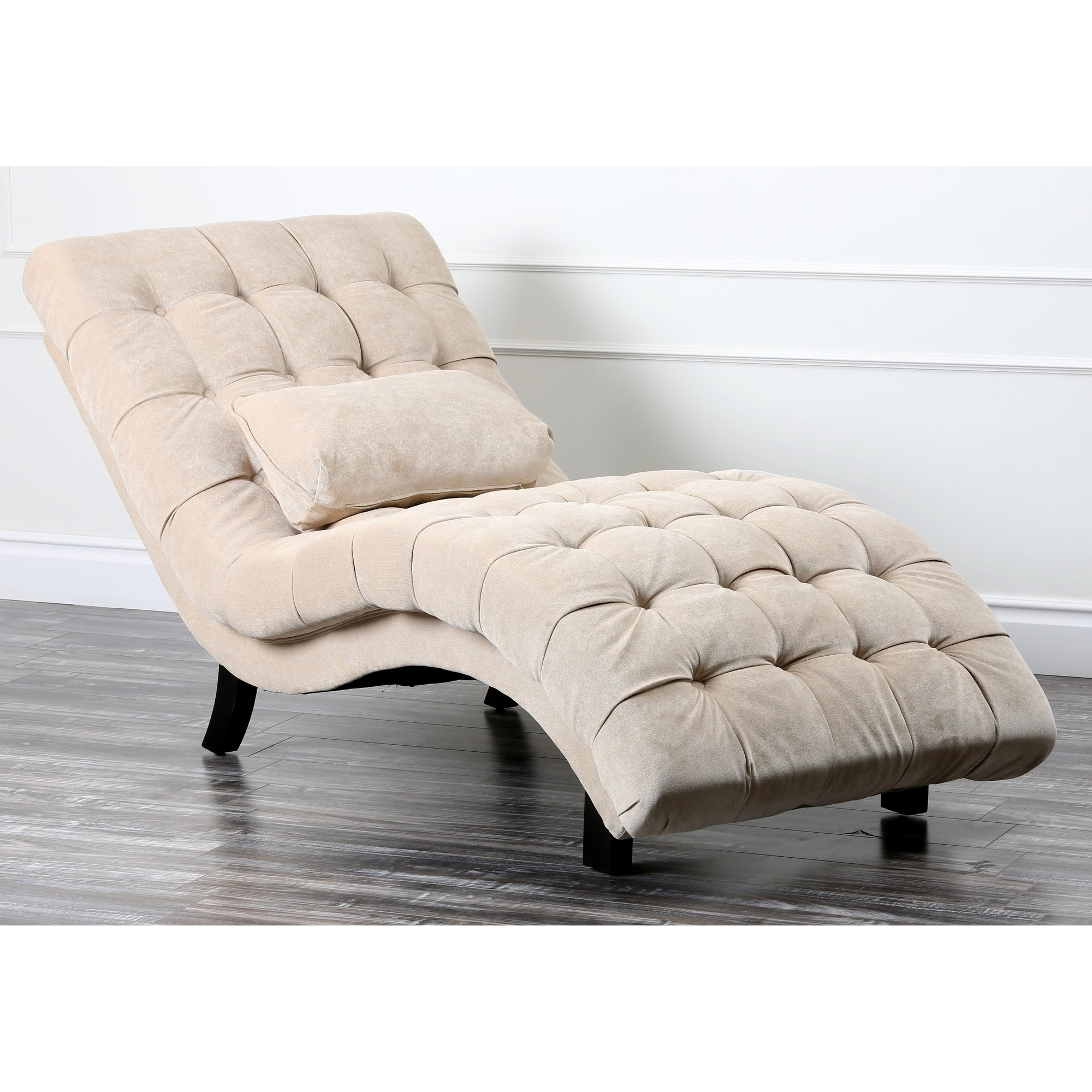 Alessia Chaise Lounge Chair Tufted • Lounge Chairs Ideas regarding Favorite Alessia Chaise Lounge Tufted Chairs
