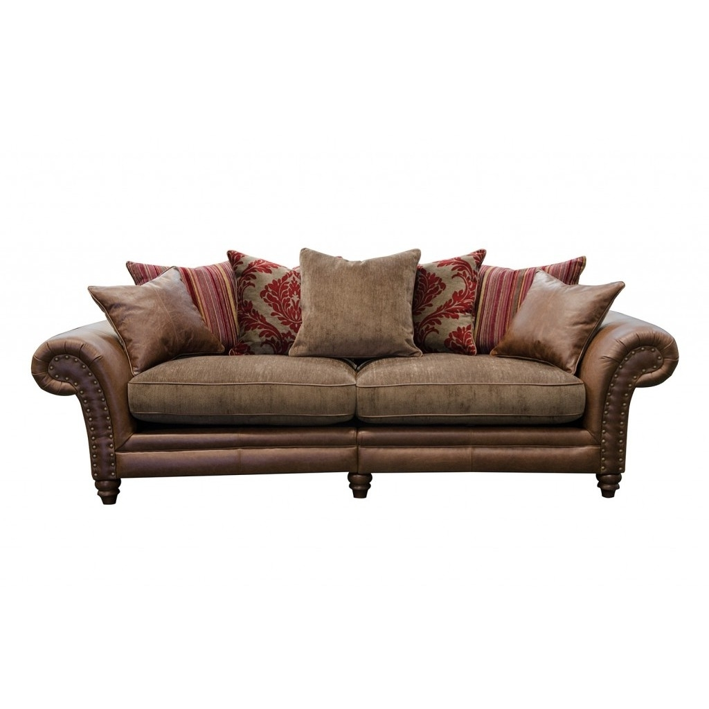 Alexander & James Hudson 4 Seater Sofa Option 1 – The Place For Homes Pertaining To Most Up To Date 4 Seat Sofas (View 2 of 15)