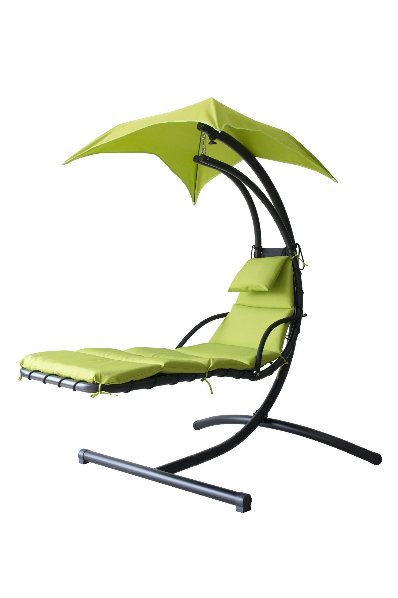 Amazing Hanging Chaise Lounge Chair Hammock Swing Canopy Glider Intended For Most Recent Hanging Chaise Lounge Chairs (View 2 of 15)