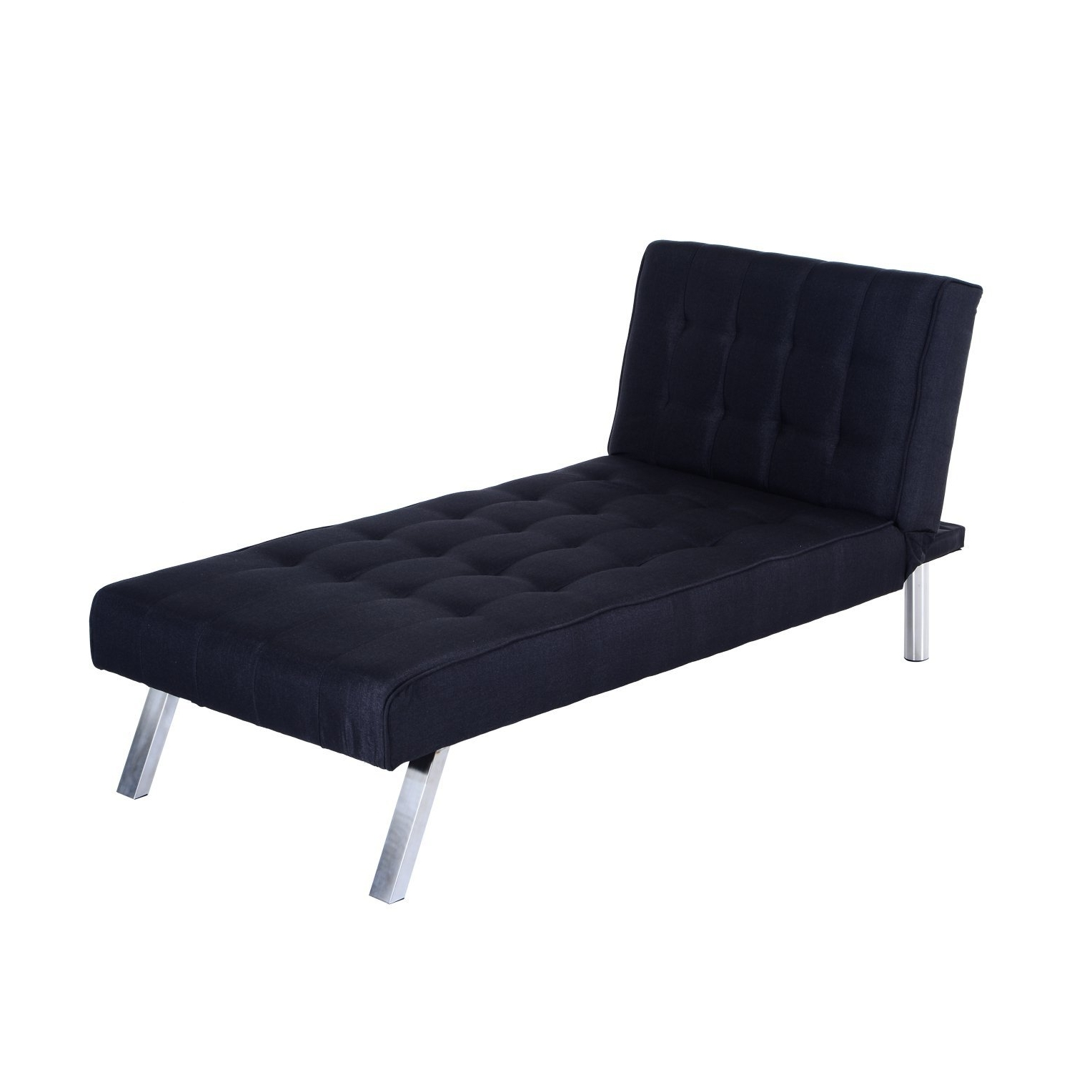 "Amazon: Homcom 70"" Modern Reclining Chaise Lounge Sleeper Sofa Within Best And Newest Chaise Lounge Sleepers (View 6 of 15)"