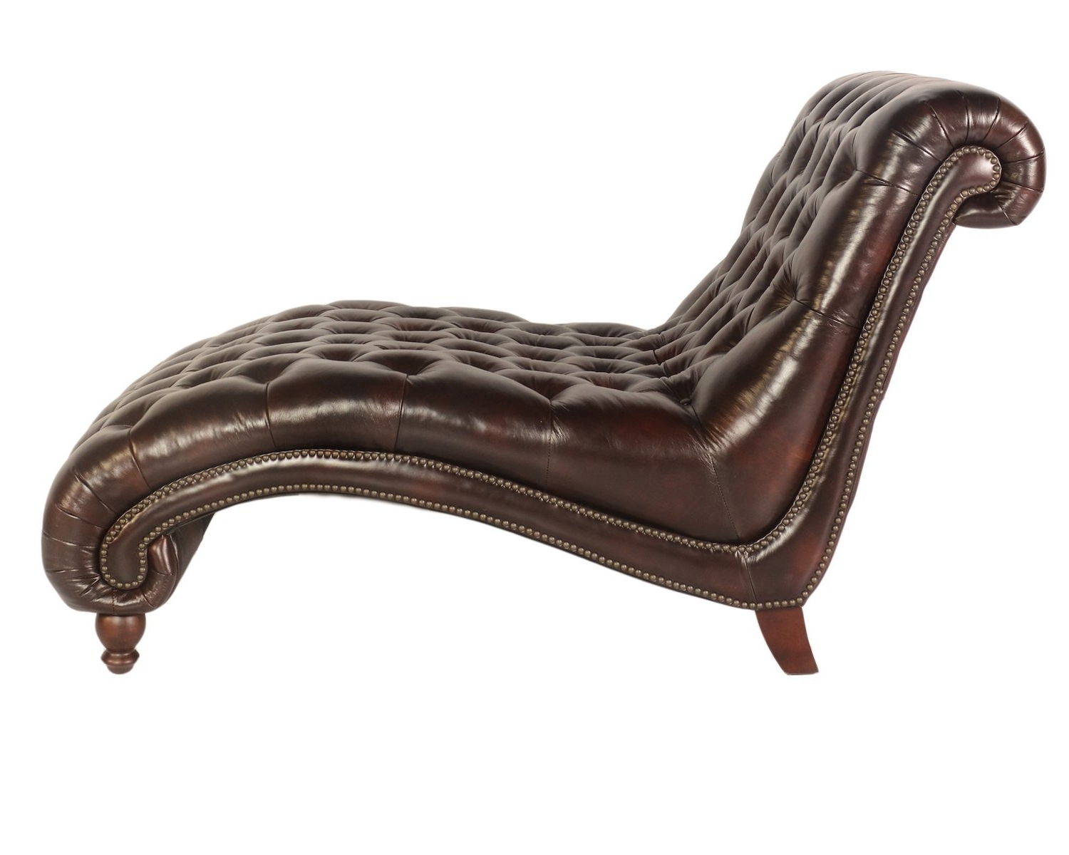 Amazon: Lazzaro C3988 Double Chaise In Vintage Toberlone Regarding Fashionable Chaise Lounge Chairs Made In Usa (View 2 of 15)