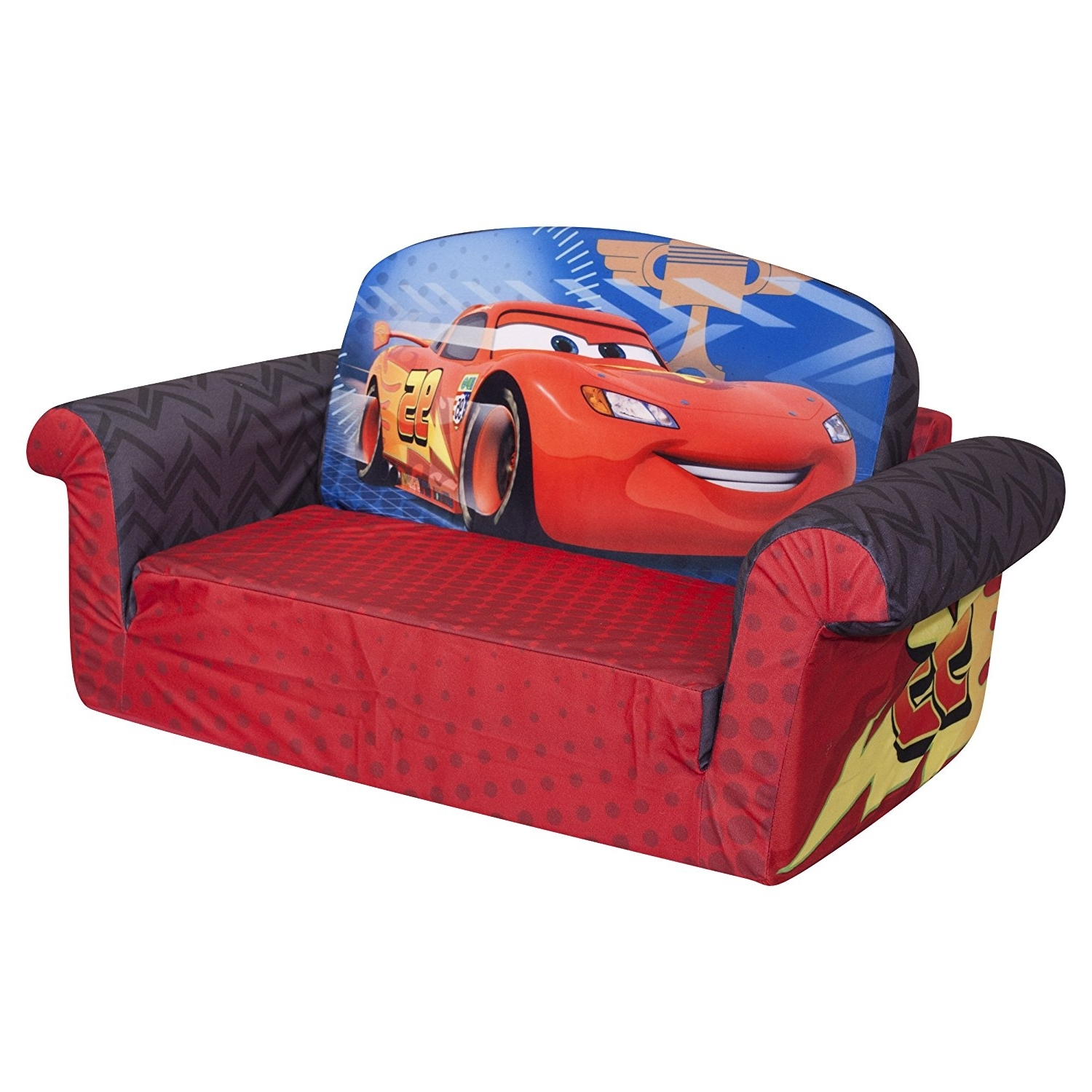 Amazon: Marshmallow Furniture, Children's 2 In 1 Flip Open With Regard To Well Liked Disney Sofa Chairs (View 8 of 15)