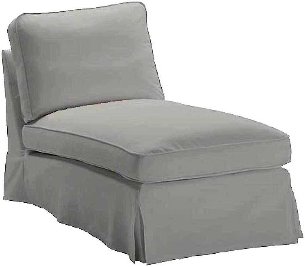 Amazon: The Light Gray Ikea Ektorp Chaise Cover Replacement Is Throughout Most Up To Date Ikea Chaise Lounges (View 6 of 15)
