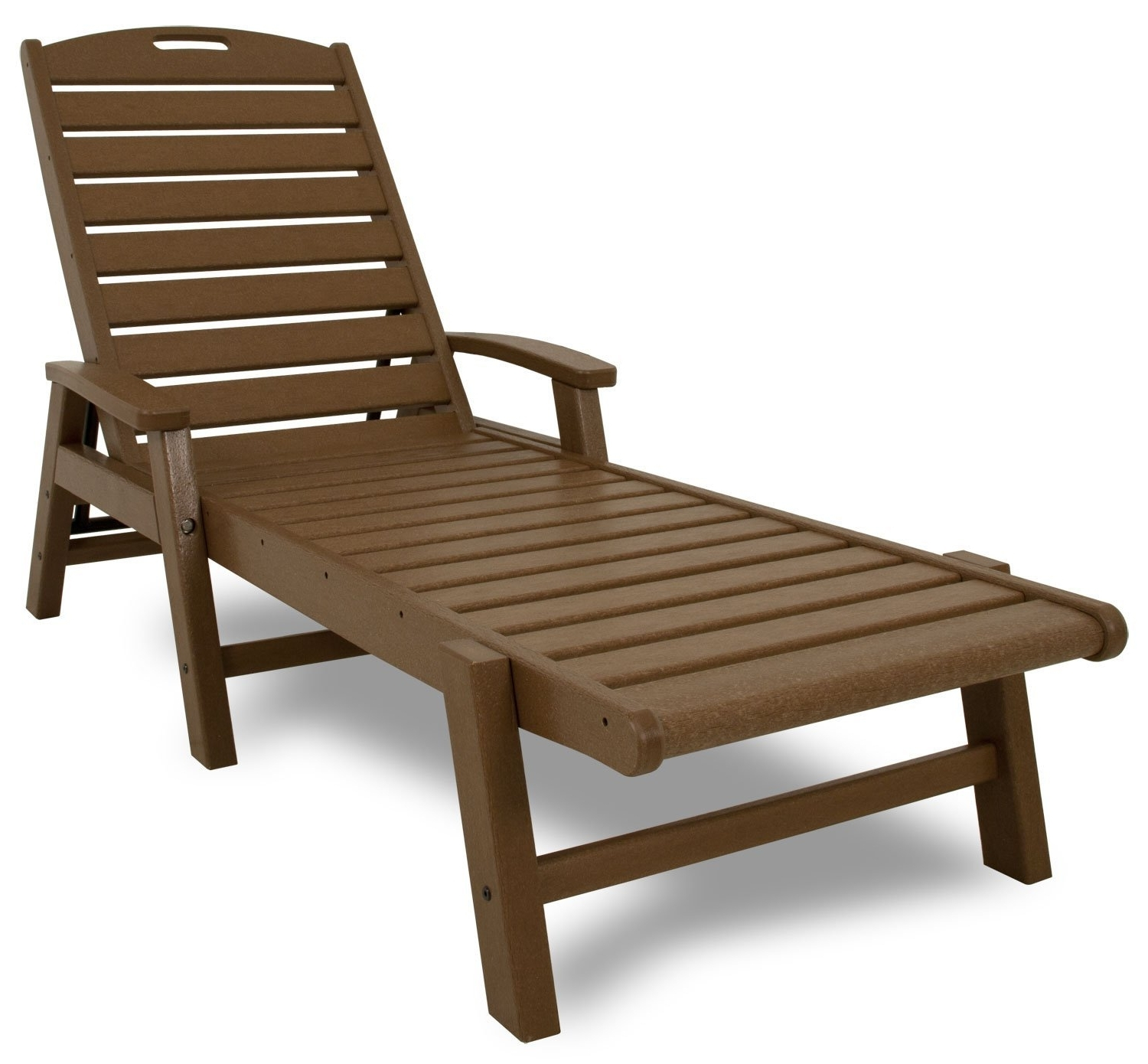 Amazon : Trex Outdoor Furniture Yacht Club Stackable Chaise Throughout Latest Chaise Lounge Chairs With Arms (View 3 of 15)