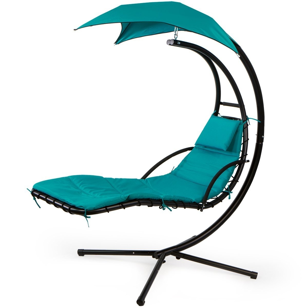 Amazon : Xtremepowerus Floating Swing Chaise Lounge Chair Within Preferred Floating Chaise Lounges (View 10 of 15)