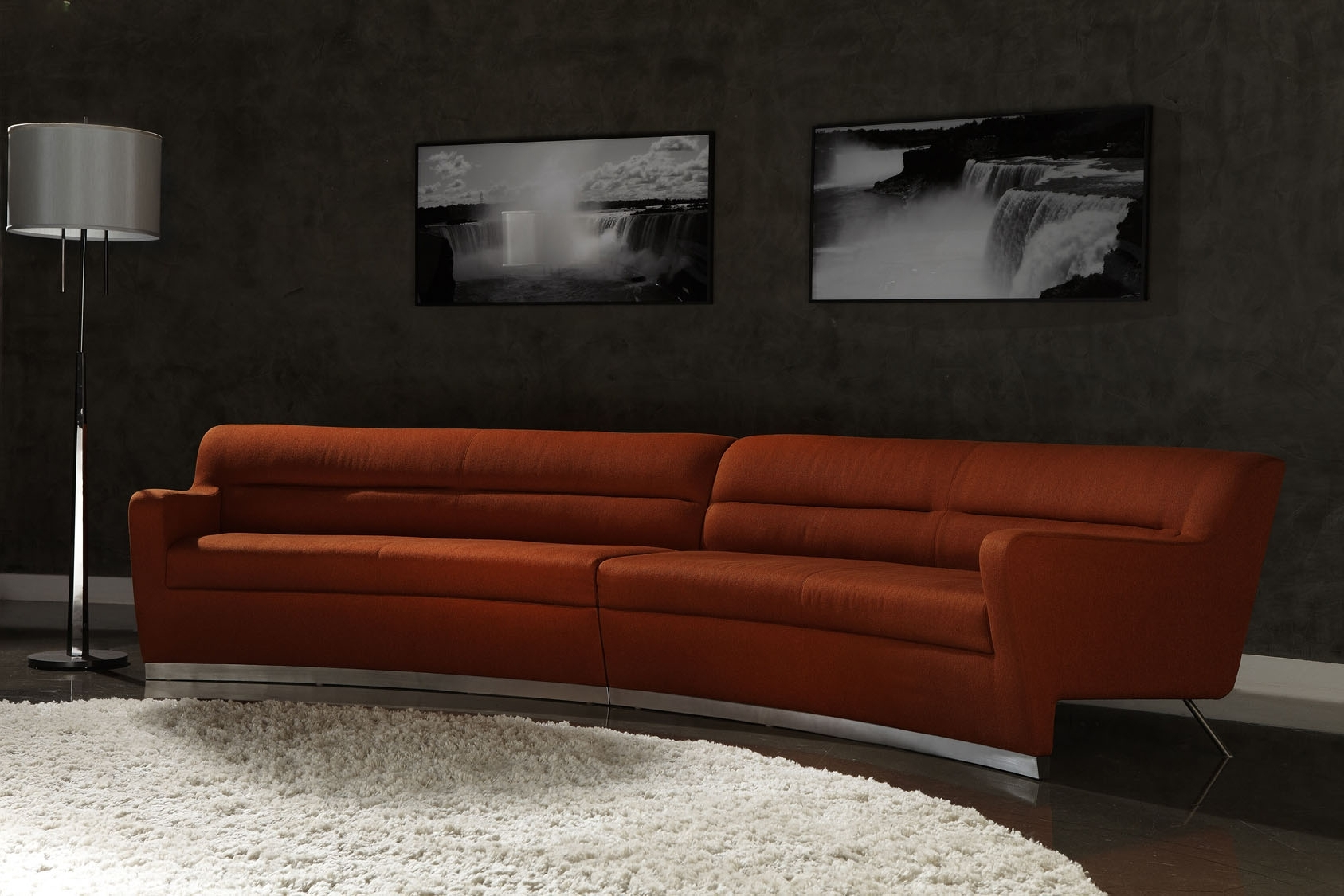 American Leather Niagara Sectional Sofa (View 2 of 15)