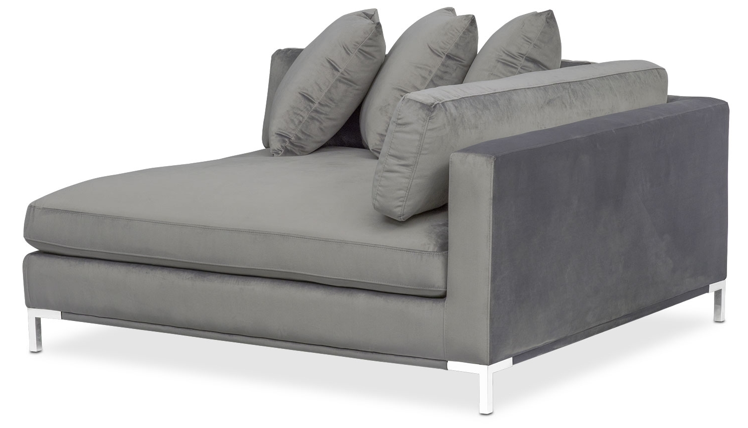 American Throughout Most Recently Released Grey Chaises (View 8 of 15)