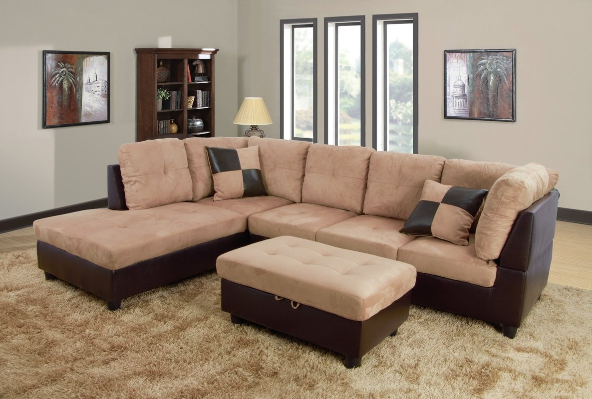 Andover Mills Russ Sectional With Ottoman & Reviews (View 15 of 15)
