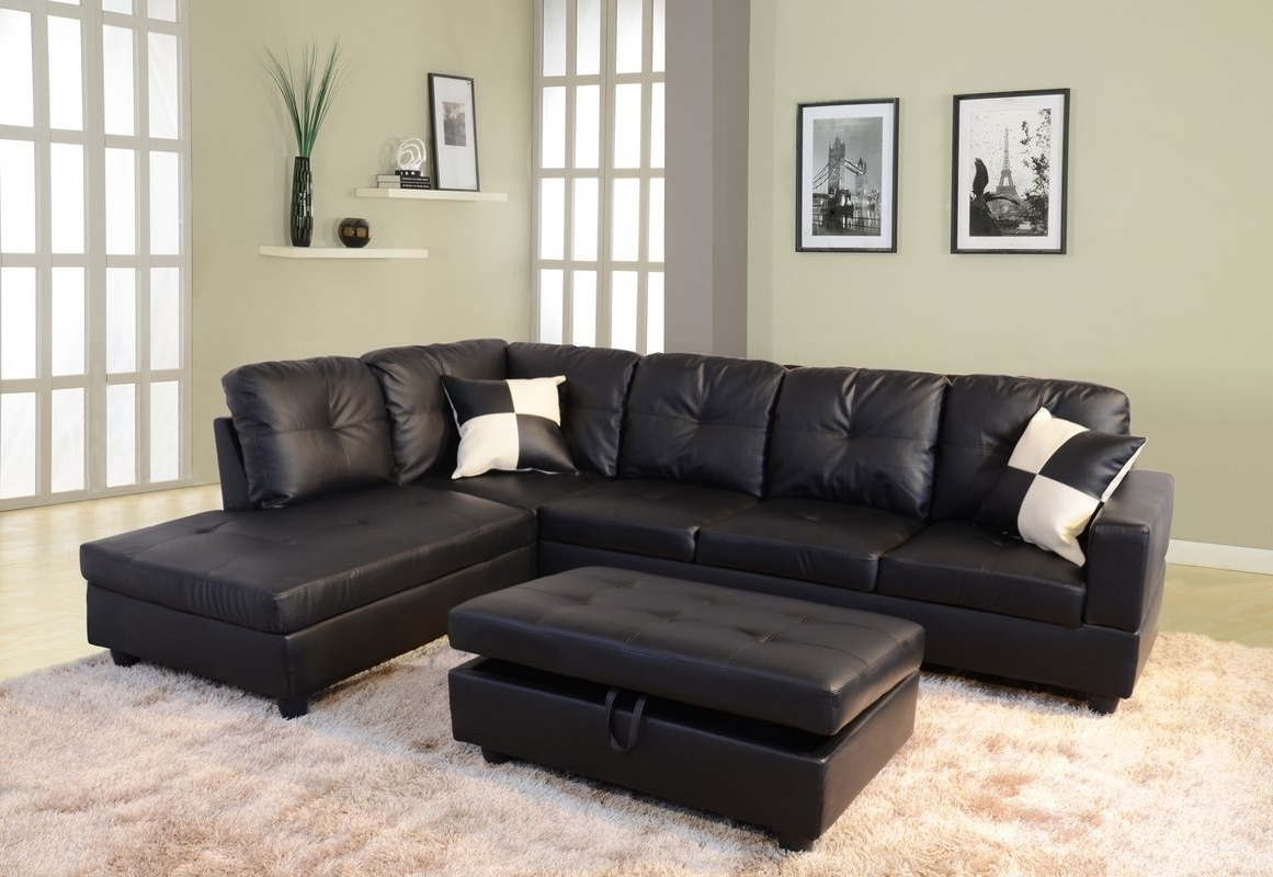 Andover Mills Russ Sectional With Ottoman & Reviews (View 1 of 15)
