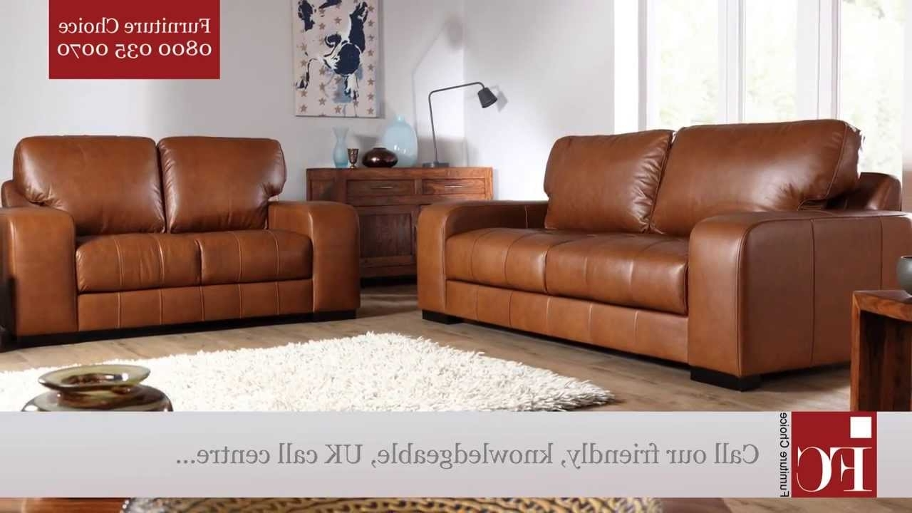 Aniline Leather Sofas Inside Favorite Buffalo Aniline Leather Sofas From Furniture Choice – Youtube (View 10 of 15)