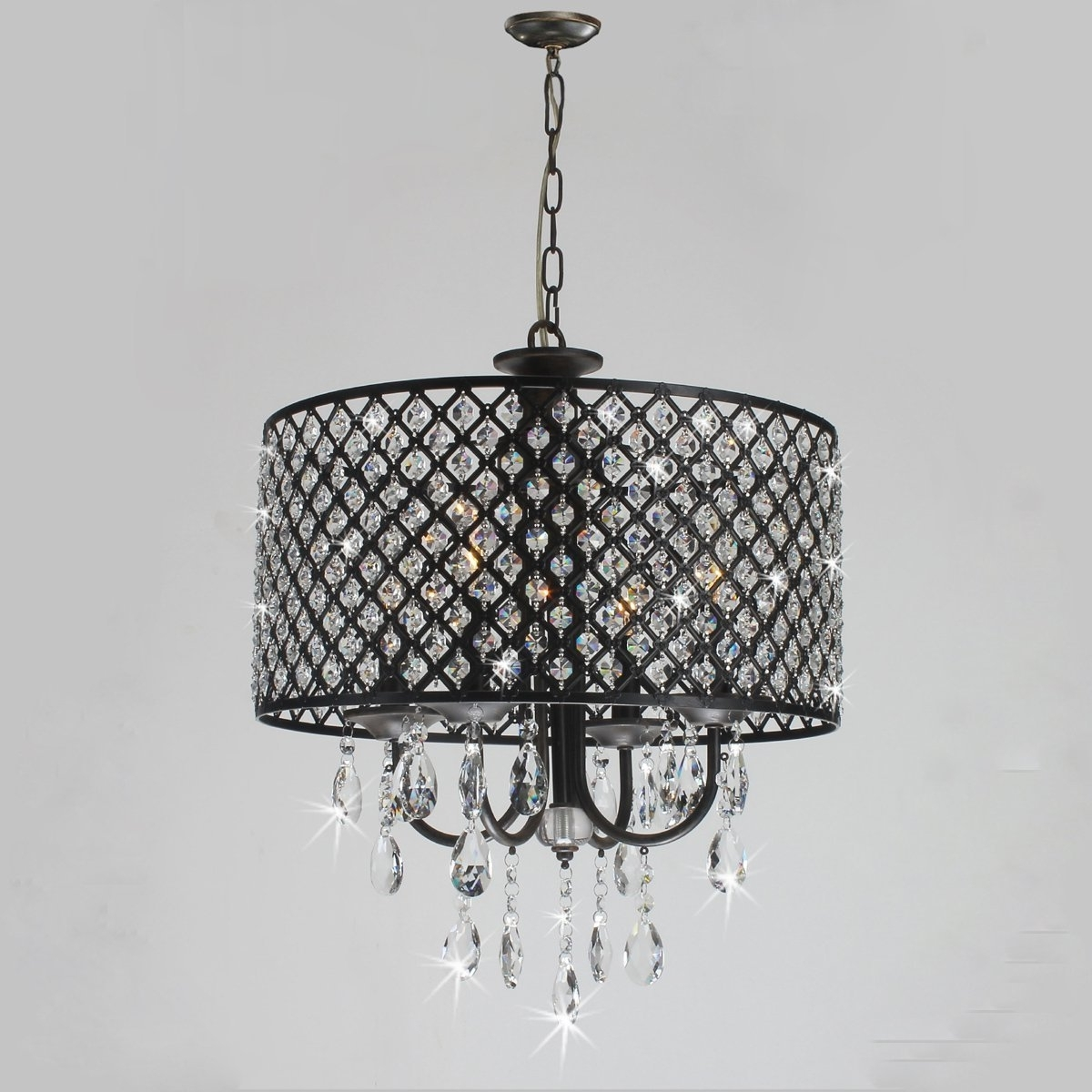 Featured Photo of Antique Black Chandelier