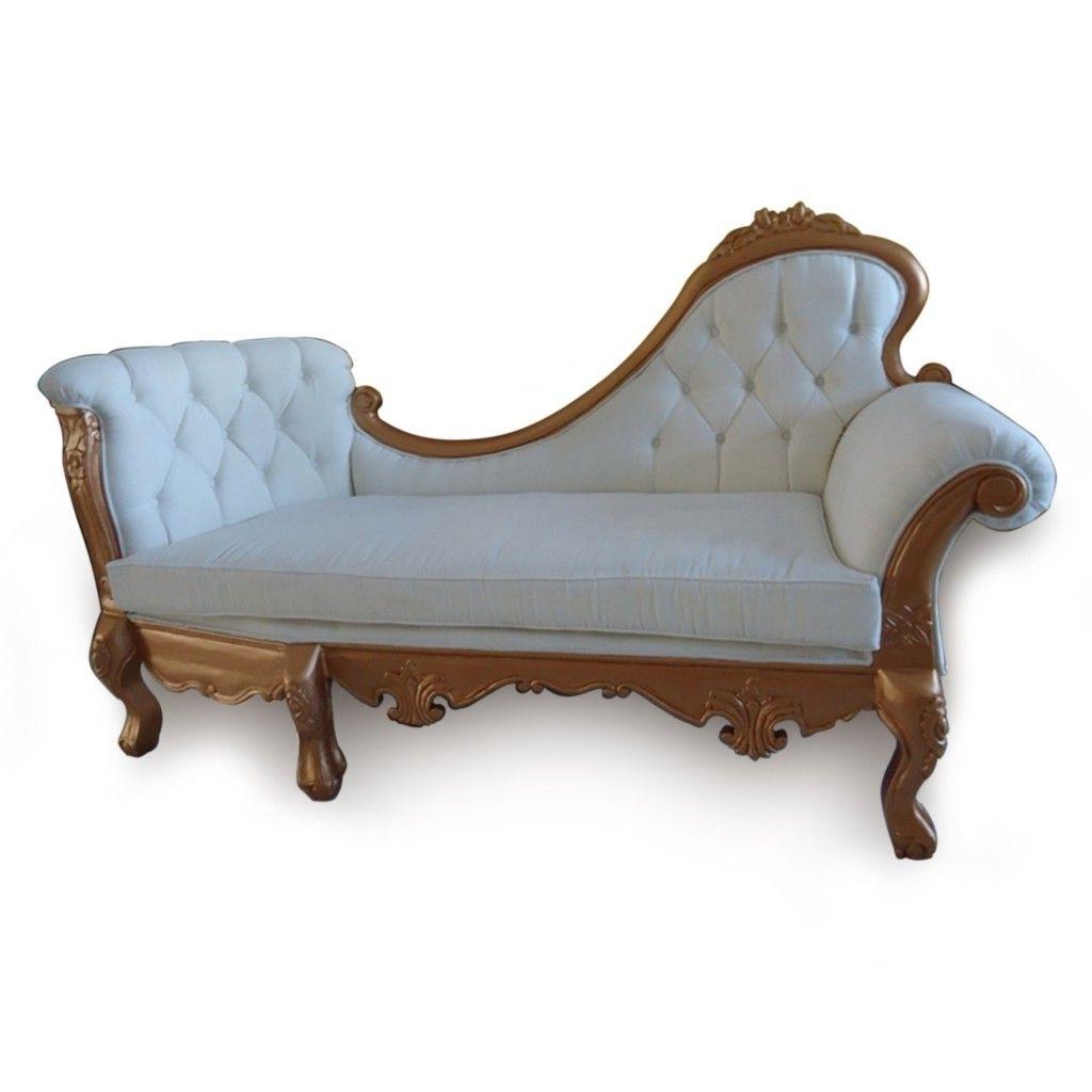 Antique Chaise Chair Unique Designs (View 2 of 15)
