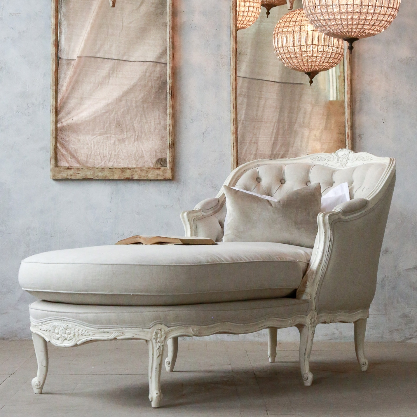 Antique Chaise Lounge Chairs For Current Vintage Victorian Chaise Lounge – Home Design And Decor (View 12 of 15)