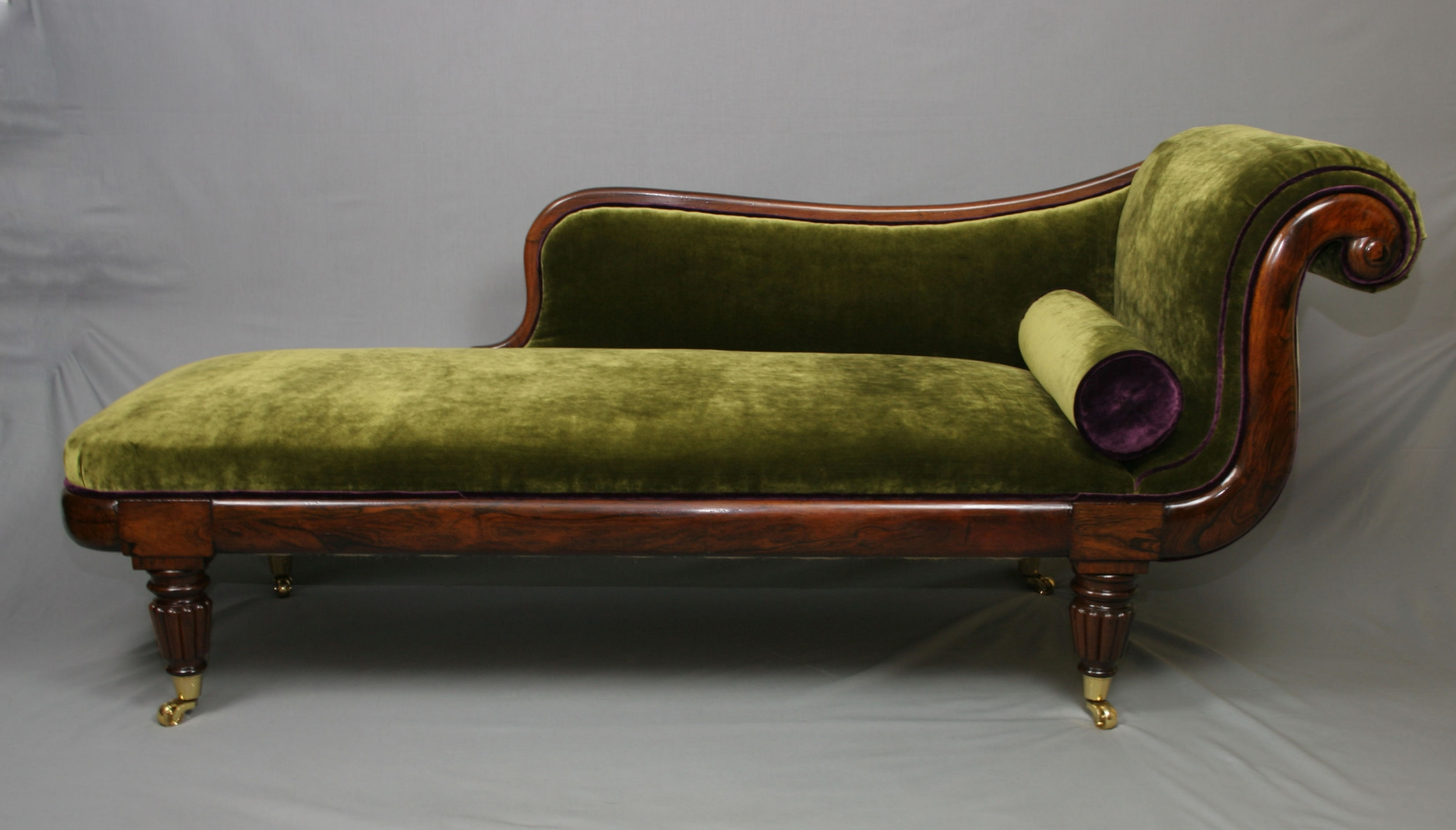 Antique Chaise Lounge Chairs Intended For Well Known Antique Chaise Lounge Chairs For Sale – Antique William Iv (View 14 of 15)