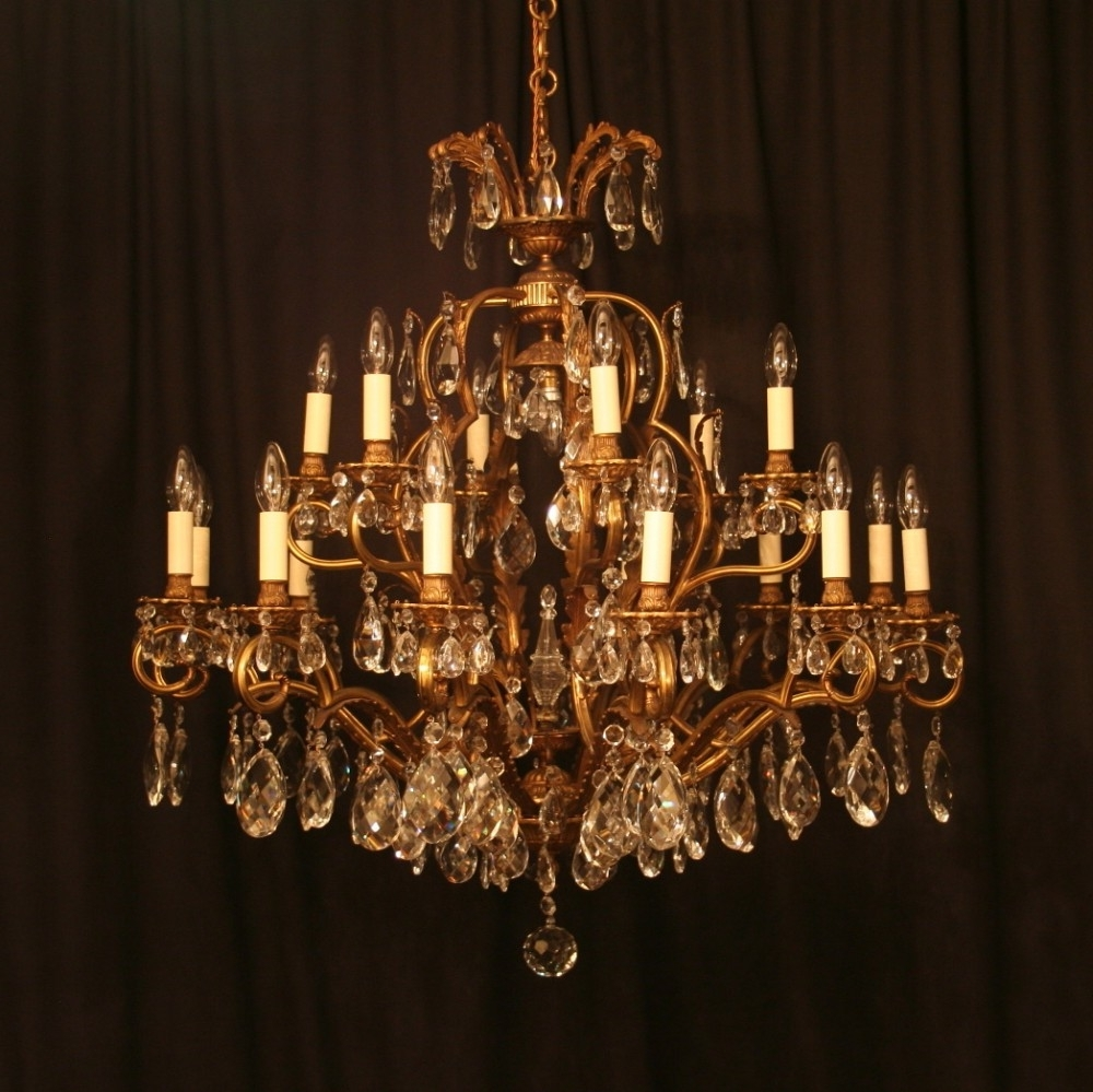 Antique Chandeliers Design And Ideas — Best Home Decor Ideas Inside Recent Antique Chandeliers (View 3 of 15)