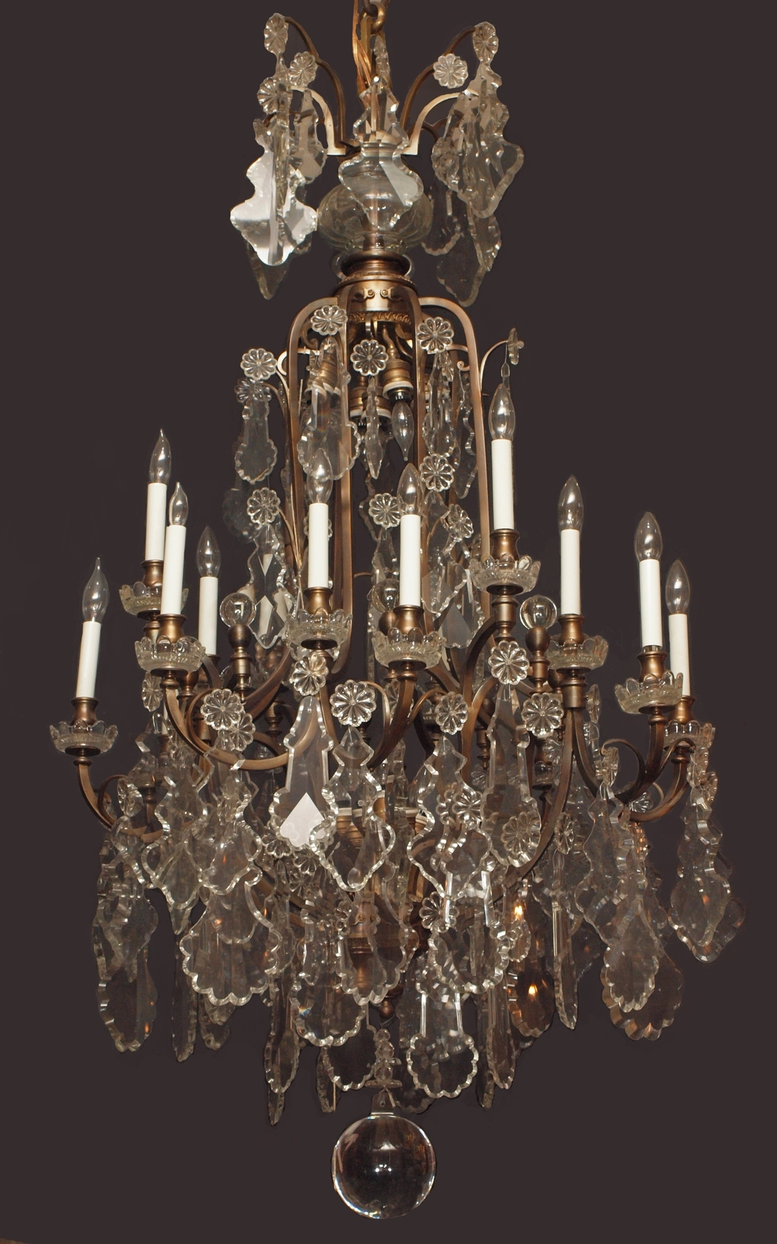 Antique French Chandeliers Throughout Trendy Chandeliers (View 3 of 15)