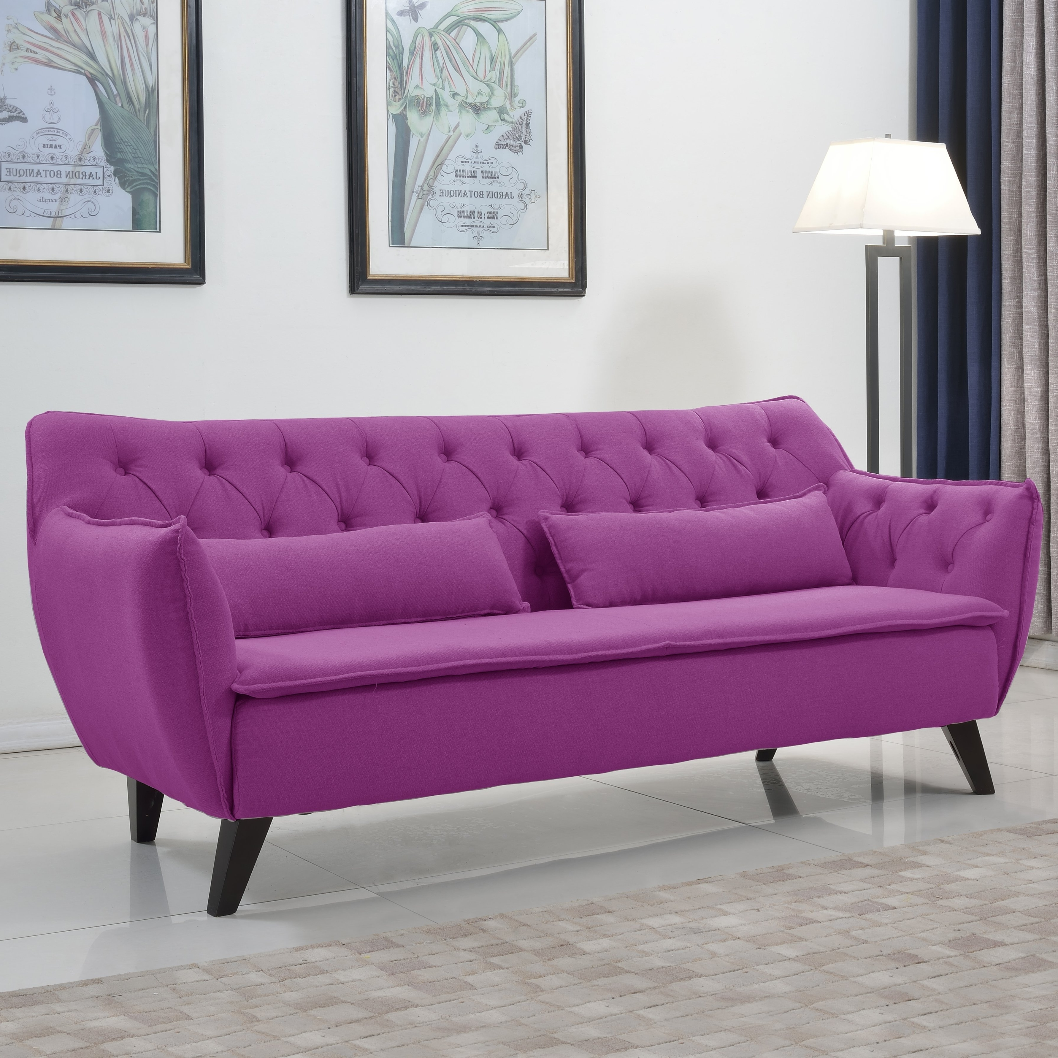 Antique Mid Century Modern Sofa — The Kienandsweet Furnitures Inside Best And Newest Fancy Sofas (View 6 of 15)