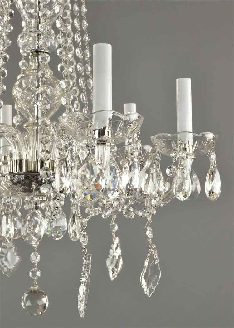 Antique Style Chandeliers Intended For Favorite Chandelier : Chandelier Frame Vintage White Chandelier Antique Light (View 6 of 15)