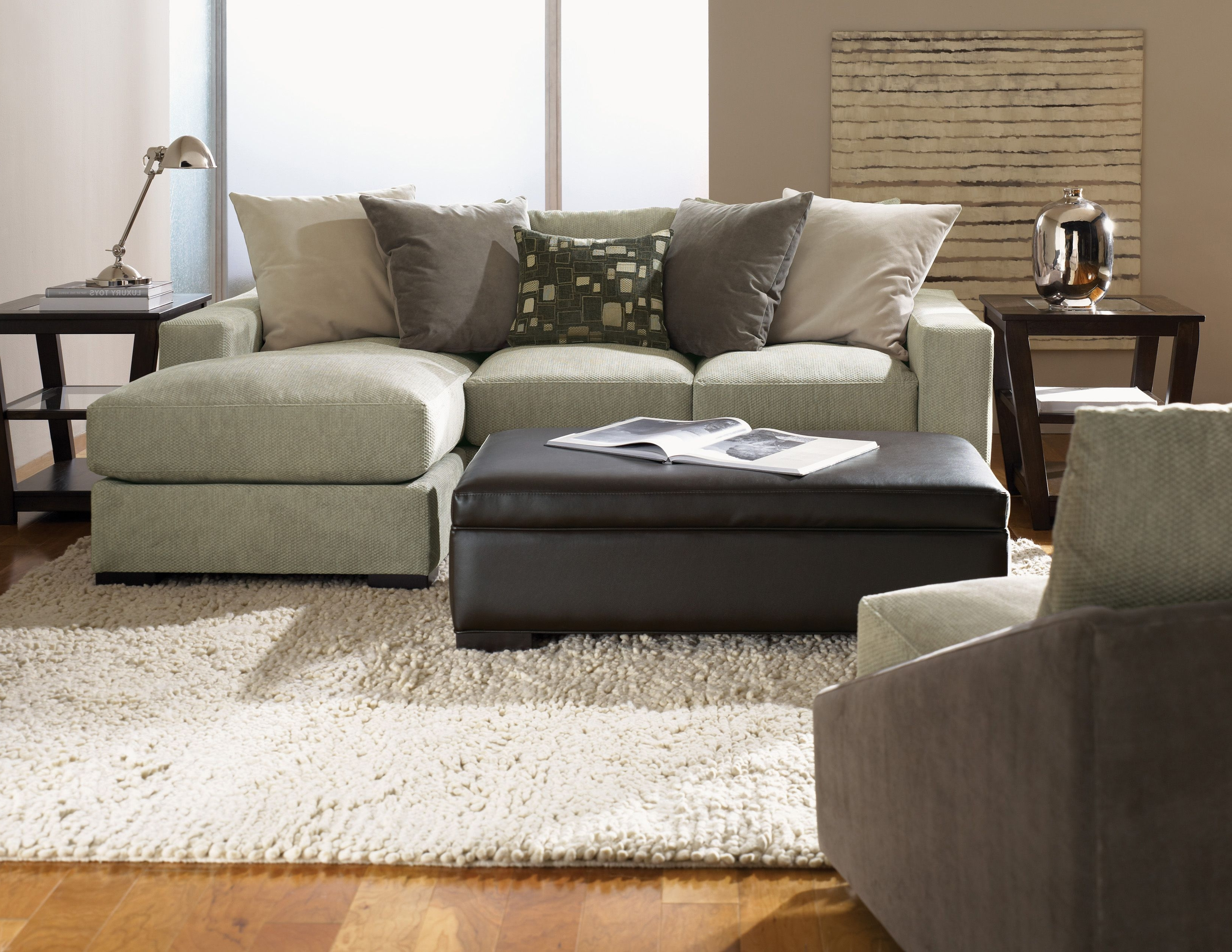 Apartment Sectional Sofas With Chaise Throughout Current Jonathan Louis Lombardy Sofa/chaise (View 5 of 15)