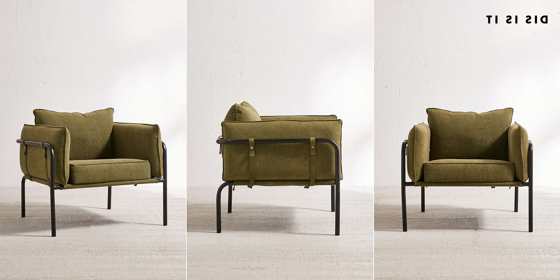 Army Green Chairs For The Fireplace Intended For Latest Green Sofa Chairs (View 11 of 15)