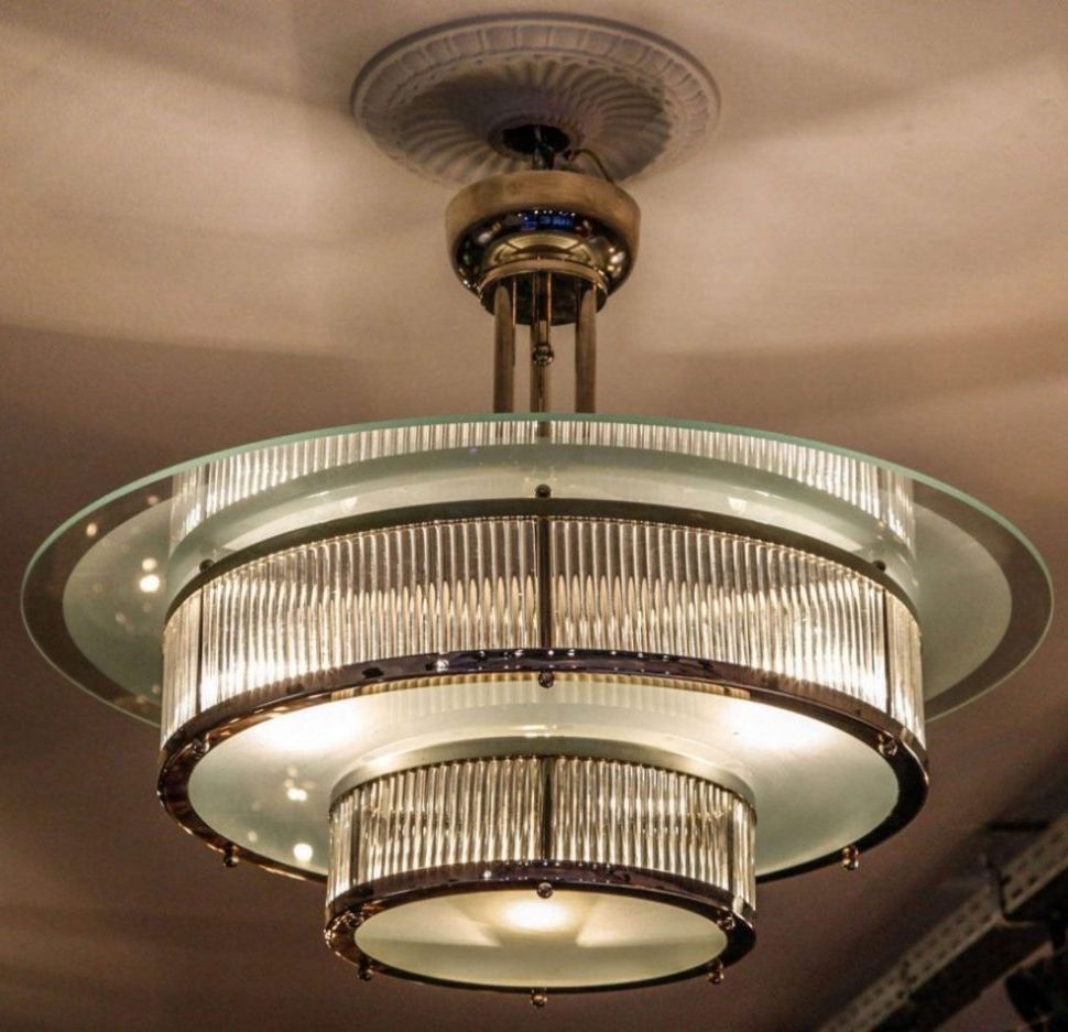 Art Deco Chandeliers Intended For Most Recently Released Deco Lamp : Antique Chandeliers For Sale Art Deco Lamp Shades For (View 9 of 15)