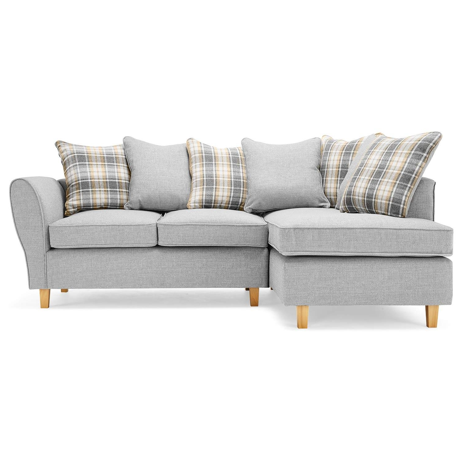 Ashbourne Fabric Corner Sofa – Next Day Delivery Ashbourne Fabric throughout Most Current Fabric Corner Sofas