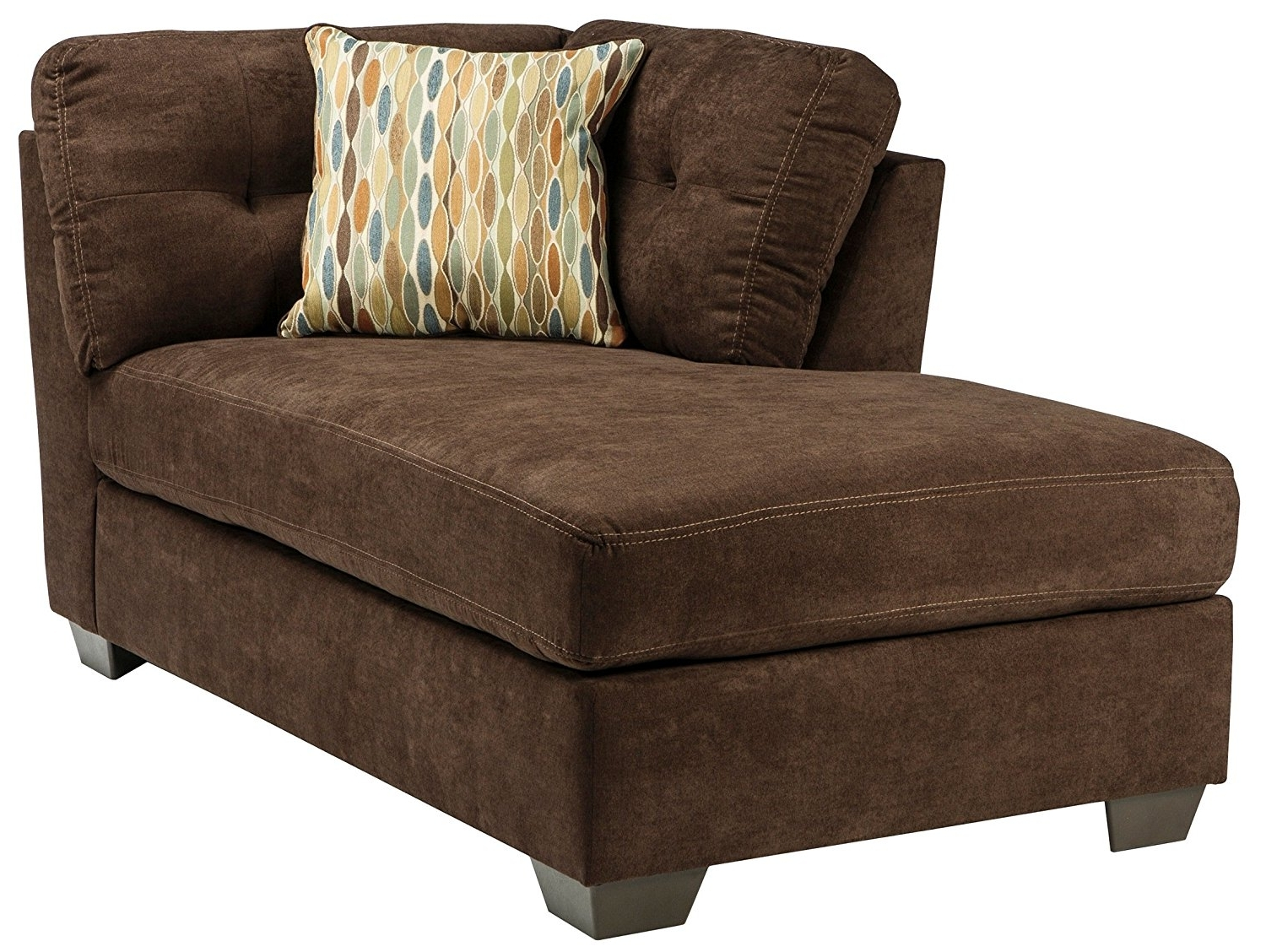 Ashley Furniture Chaise Lounges Inside 2017 Amazon: Ashley Delta City Left Corner Chaise Lounge In (View 6 of 15)