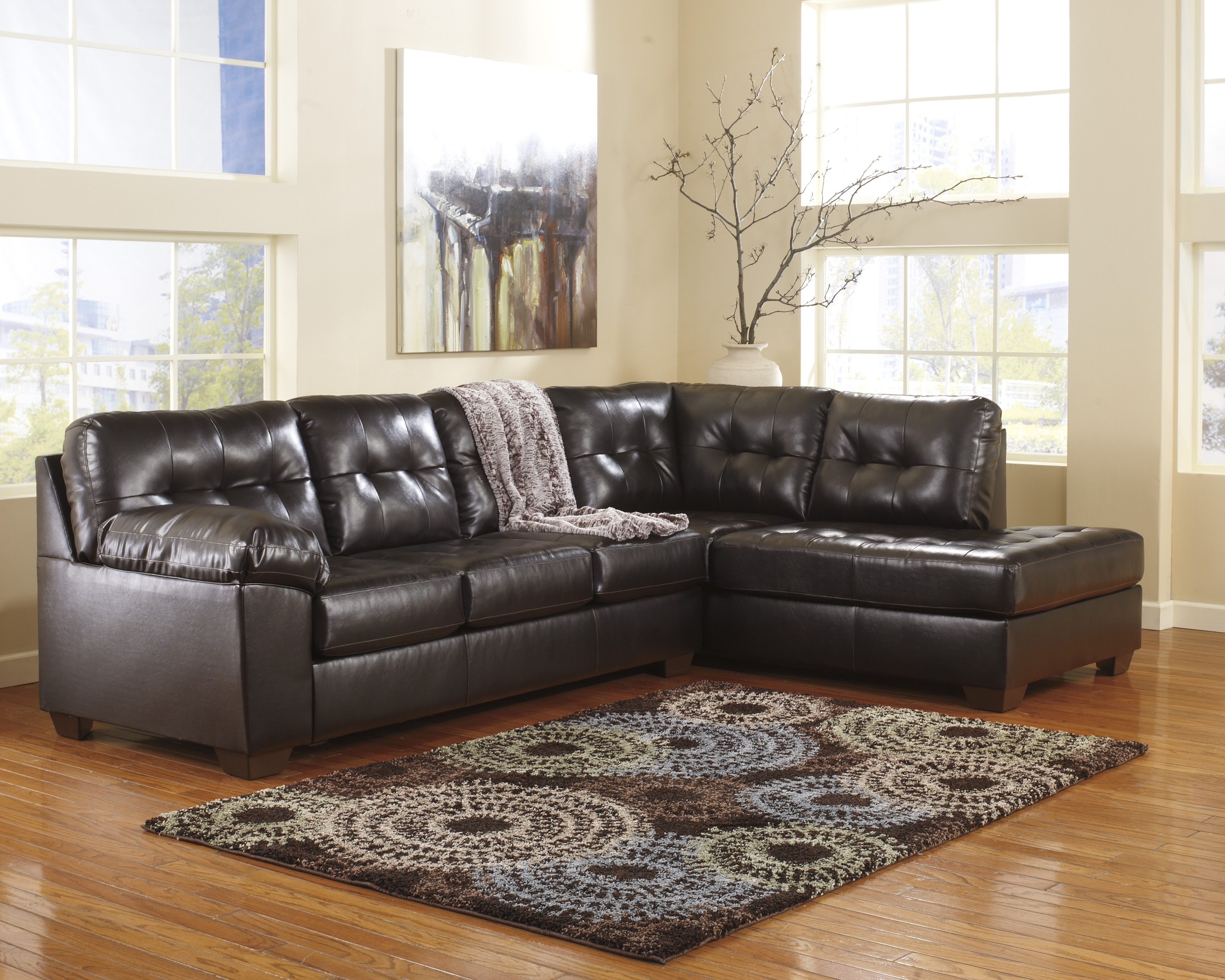 Ashley Furniture Leather Sectionals, Ashley Furniture Sofa For Current Ashley Furniture Sectionals With Chaise (View 4 of 15)