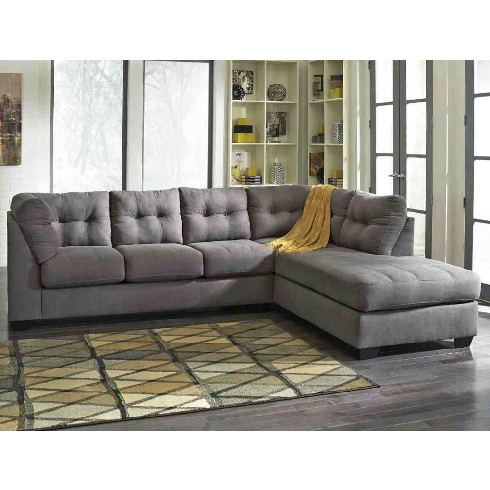 Ashley Furniture Maier Sectional In Charcoal (View 11 of 15)
