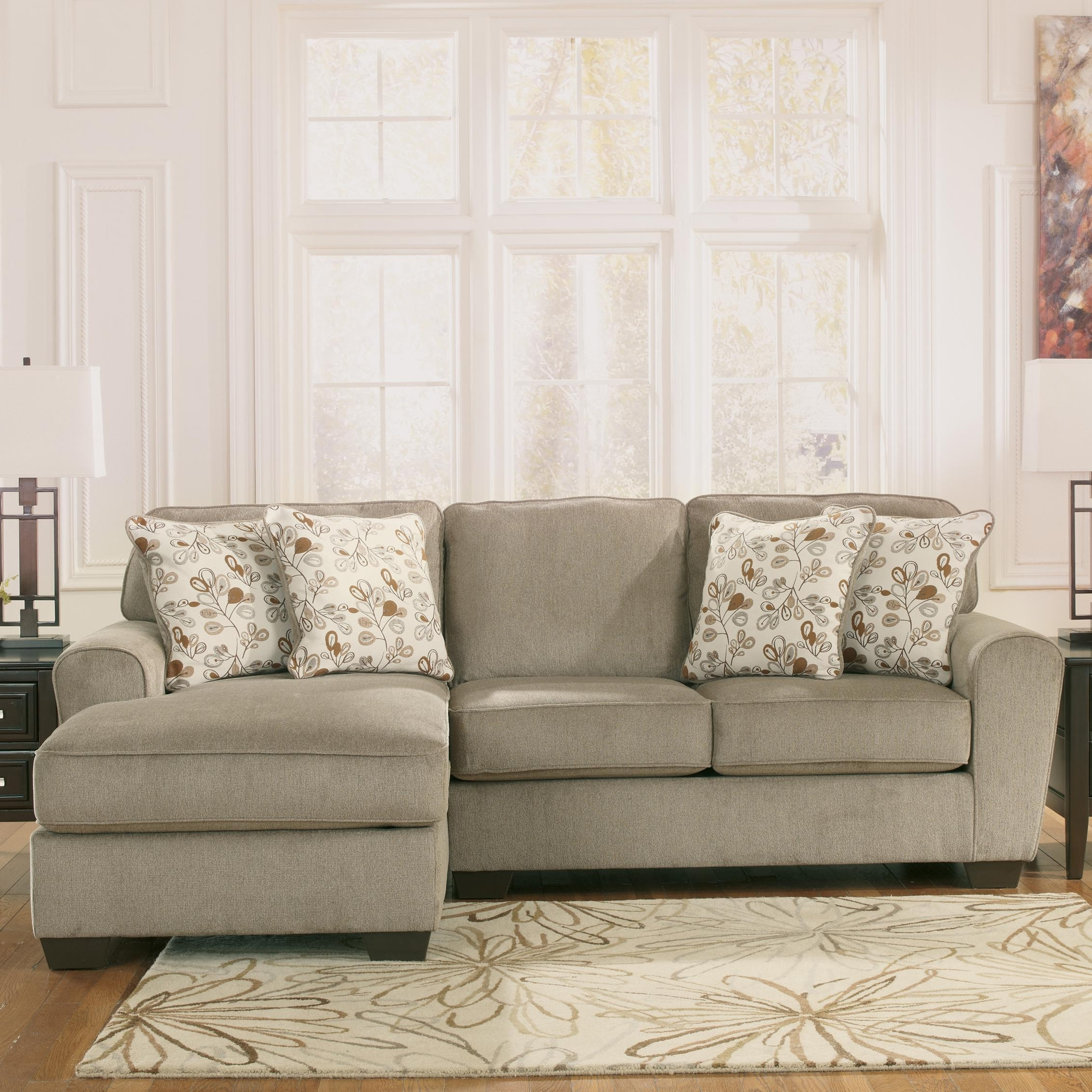 Ashley Furniture Patola Park – Patina 2 Piece Sectional With Right For Most Recent Ashley Furniture Sectionals With Chaise (View 8 of 15)