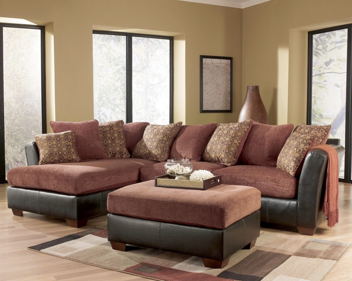 Ashley Furniture Sectional Sofa #2 Ashley Furniture – Larson 31400 With Regard To Most Current Royal Furniture Sectional Sofas (View 13 of 15)