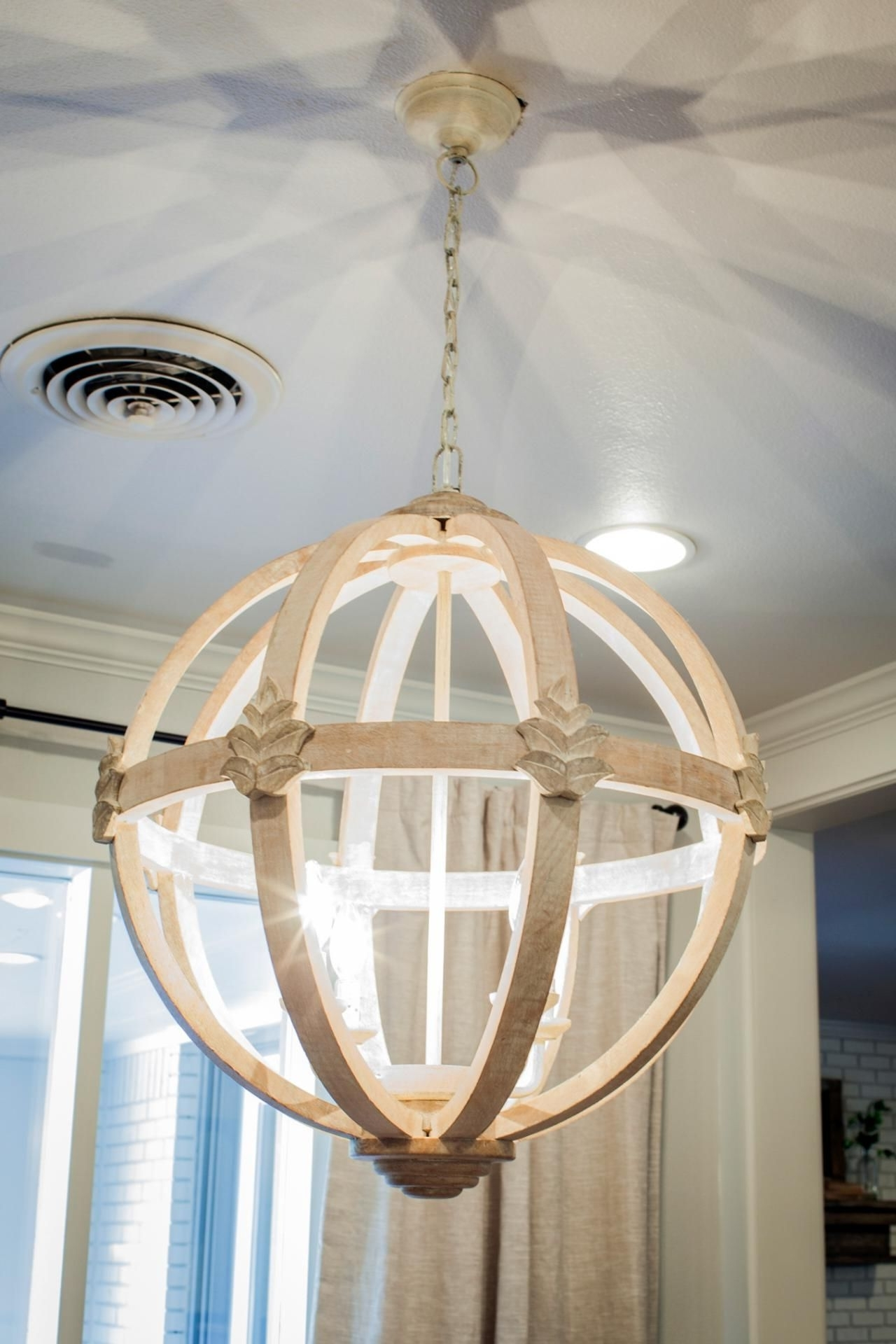 Asian Chandeliers Intended For Famous 11 Ways To Get The Fixer Upper Look In Your Home – Page 4 Of  (View 10 of 15)